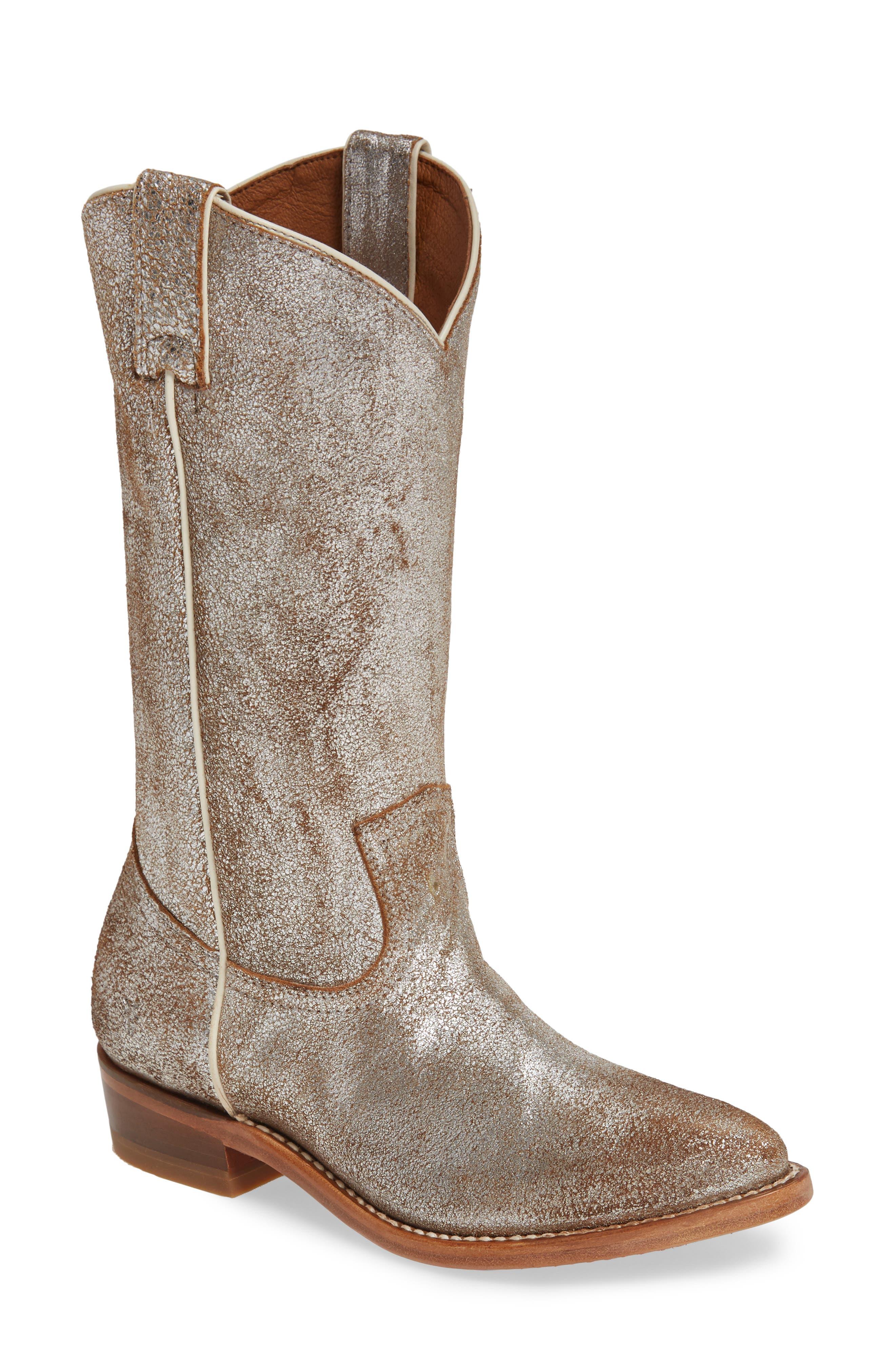 Frye Billy Pull-On Boot, Metallic