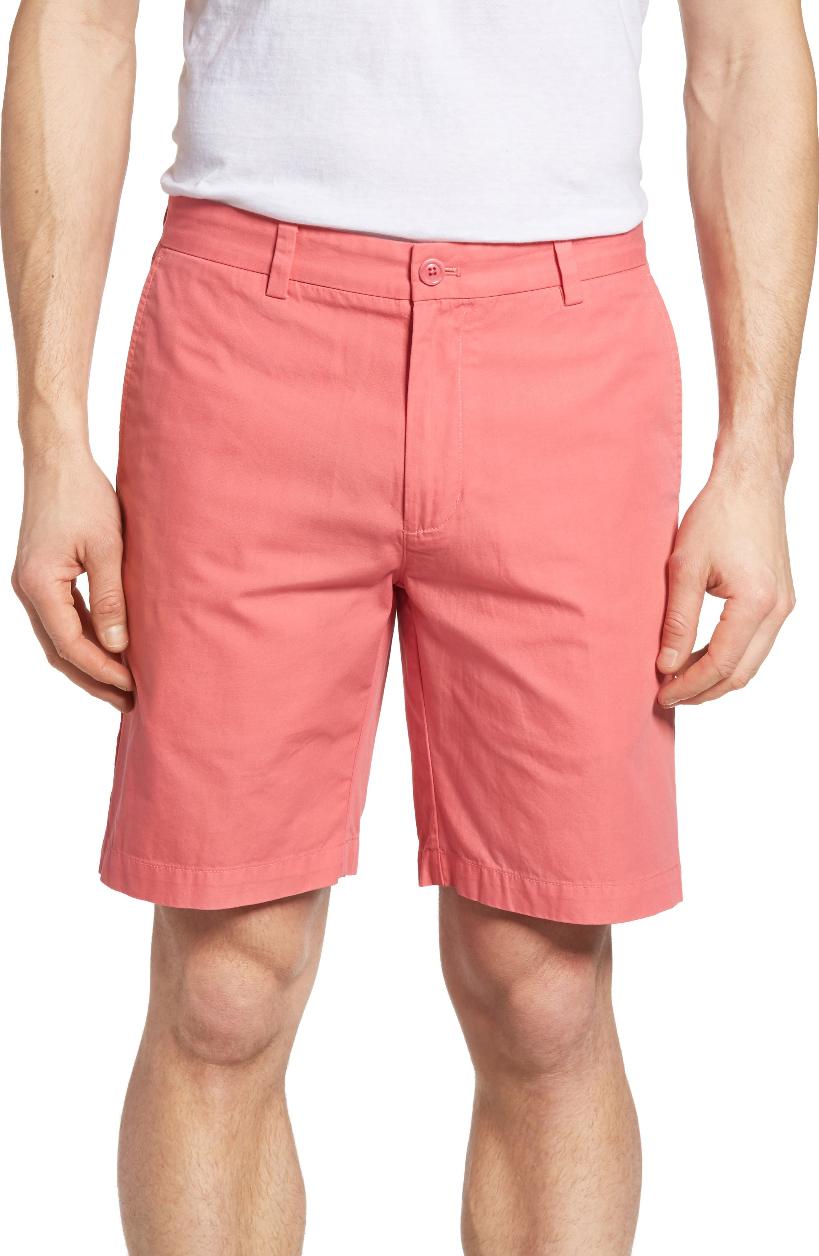 9 Inch Stretch Breaker Shorts,                             Main thumbnail 1, color,                             LOBSTER REEF