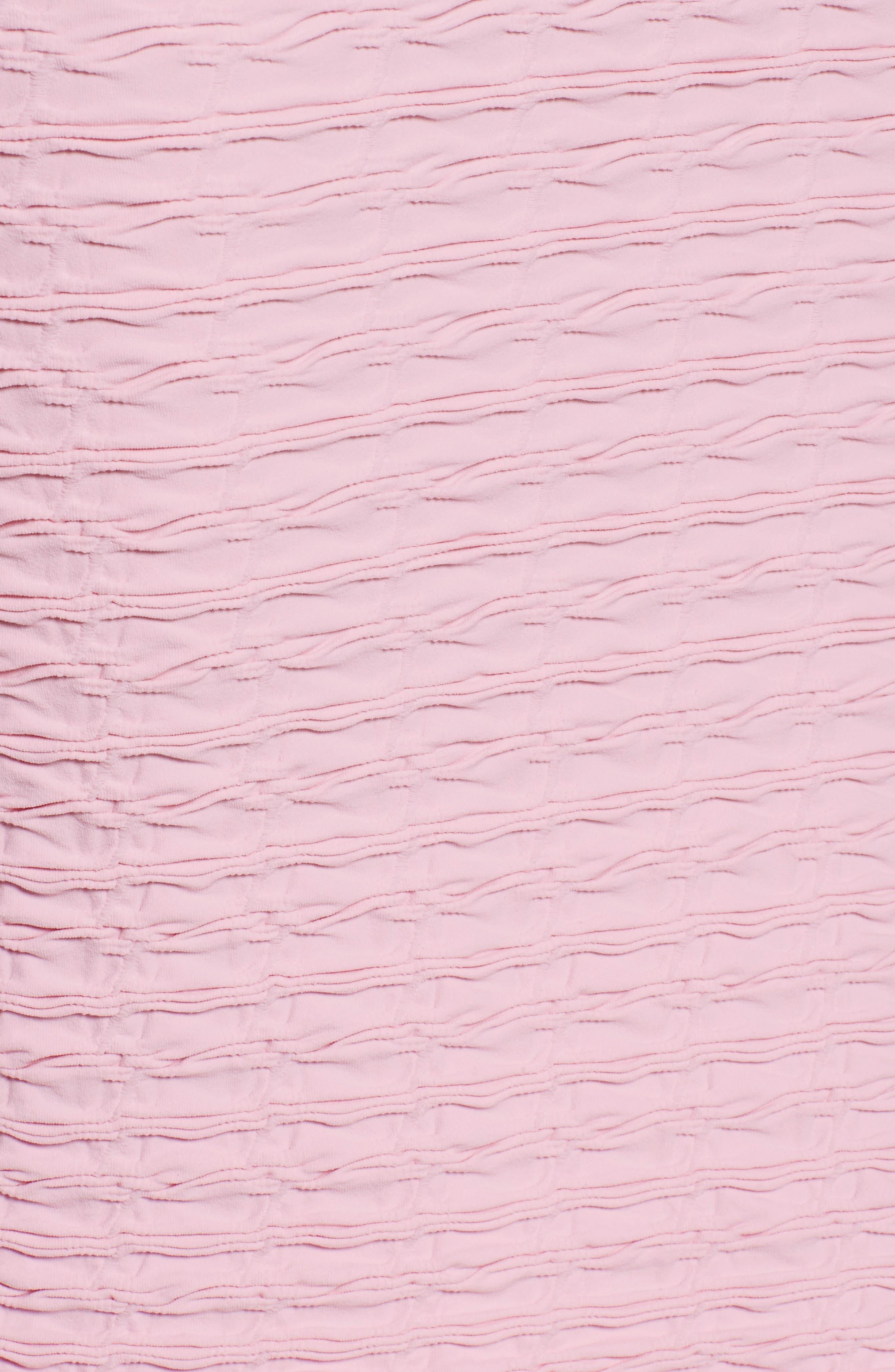 'Crinkle' Maternity Midi Dress,                             Alternate thumbnail 18, color,