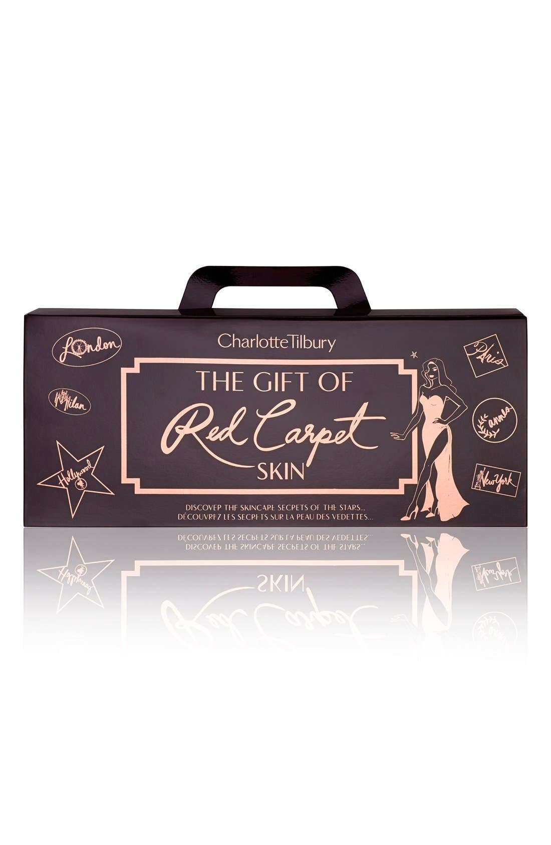 The Gift of Red Carpet Skin Travel Set,                             Alternate thumbnail 2, color,                             000