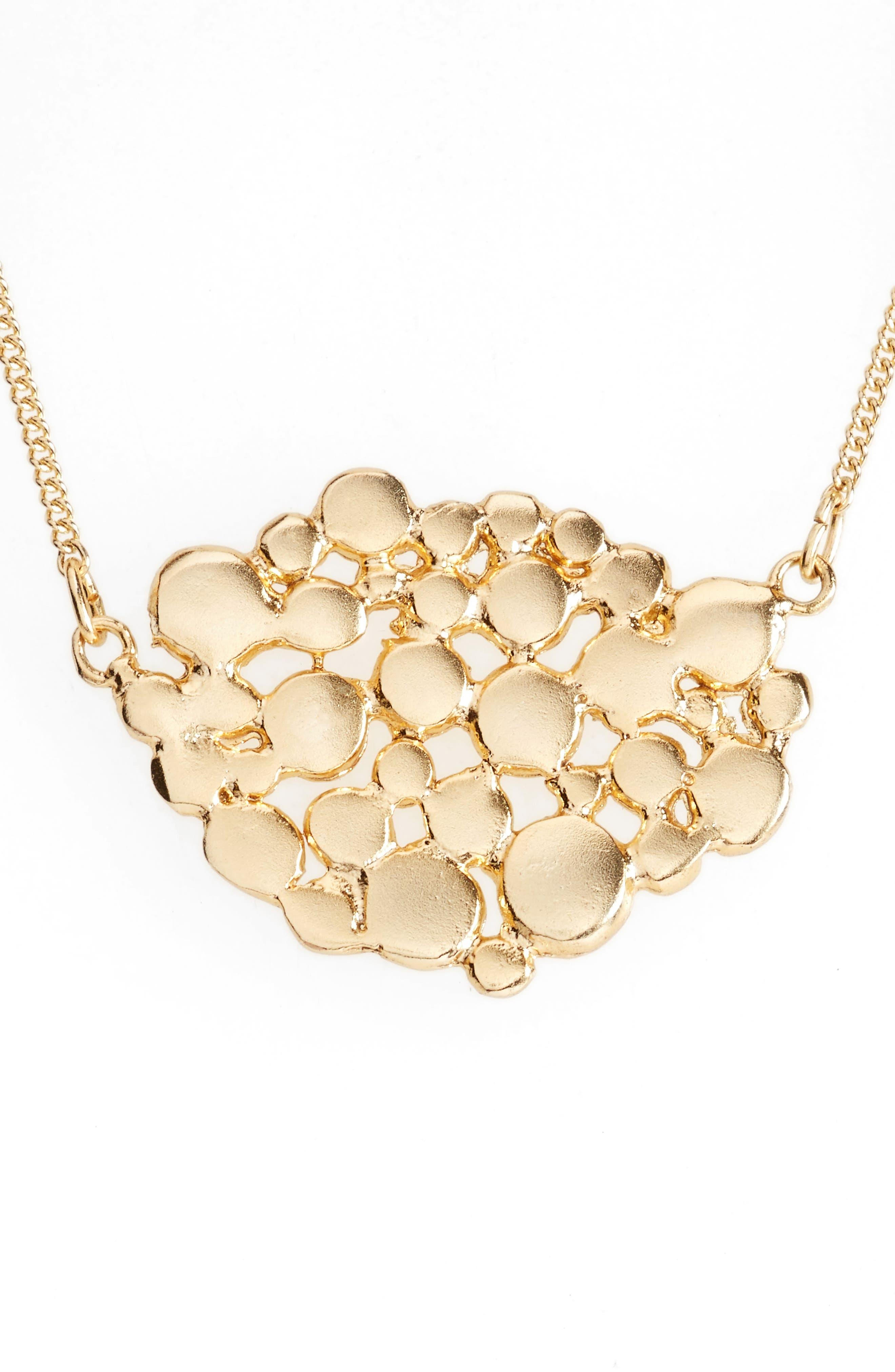 Bubble Mosaic Pendant Necklace,                             Main thumbnail 1, color,