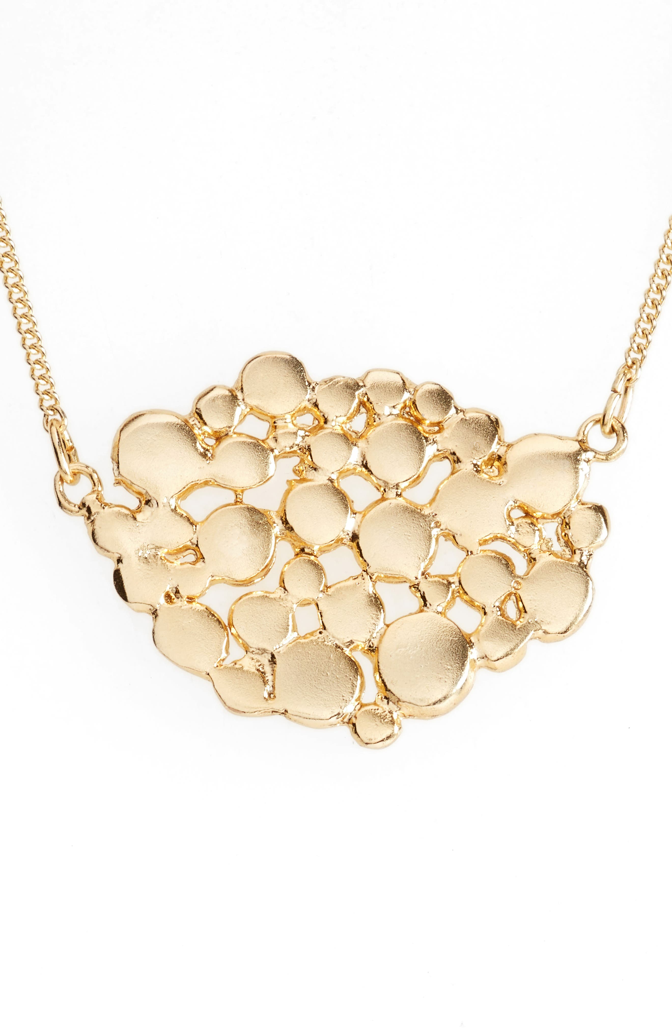 Bubble Mosaic Pendant Necklace,                         Main,                         color, 710