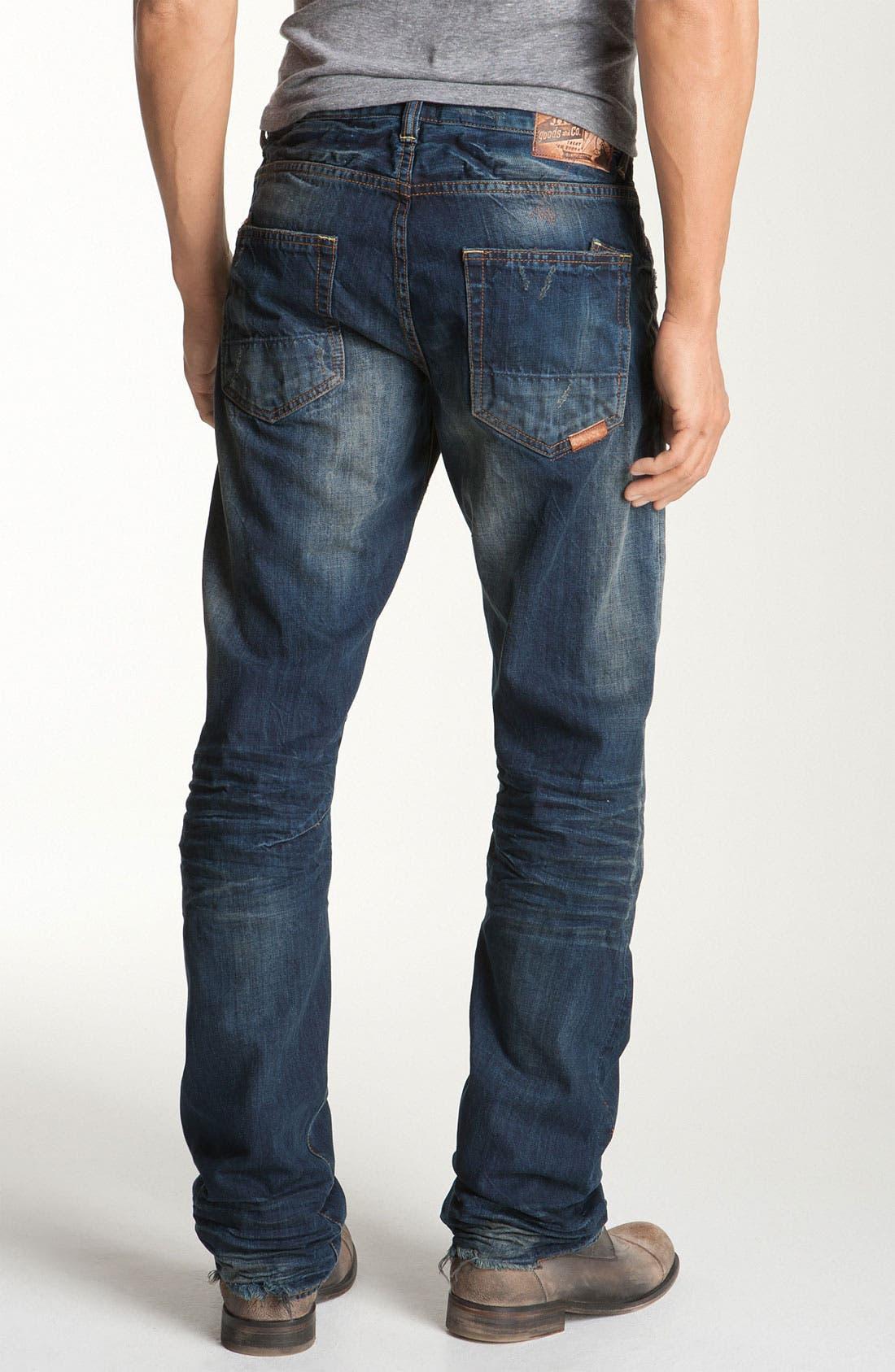 'Barracuda' Straight Leg Jeans,                             Main thumbnail 1, color,                             481