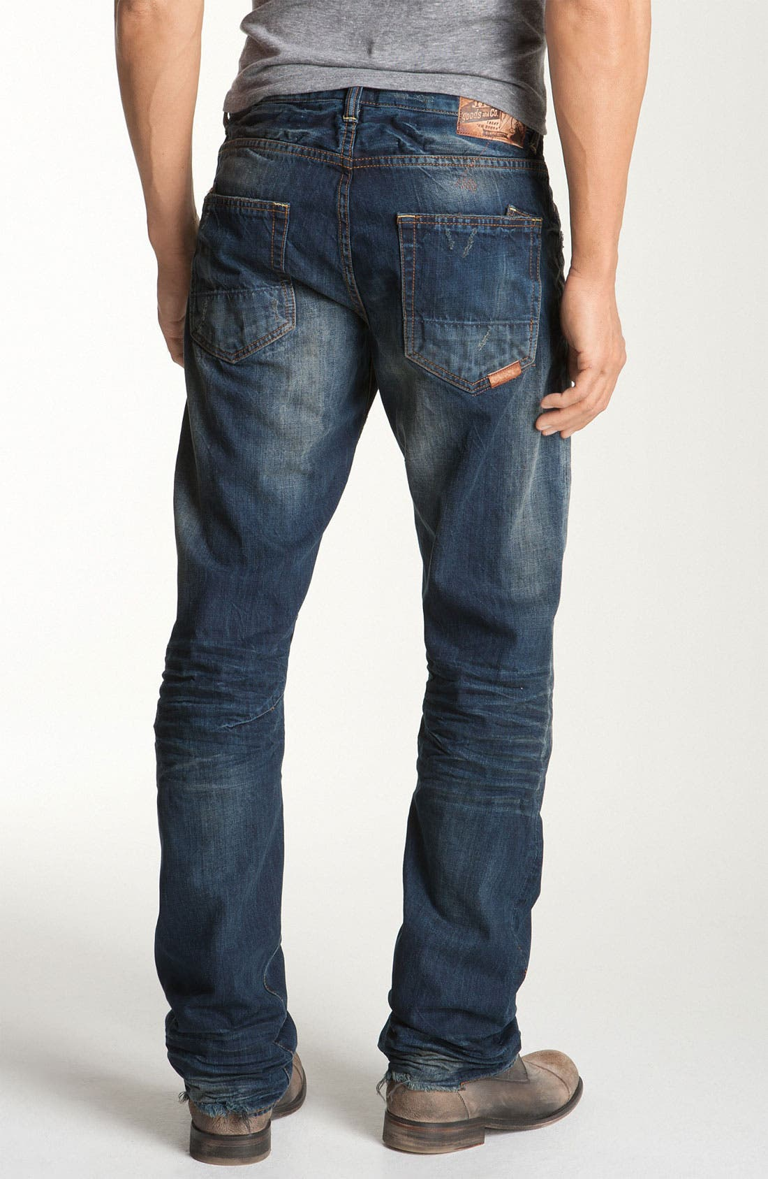'Barracuda' Straight Leg Jeans, Main, color, 481