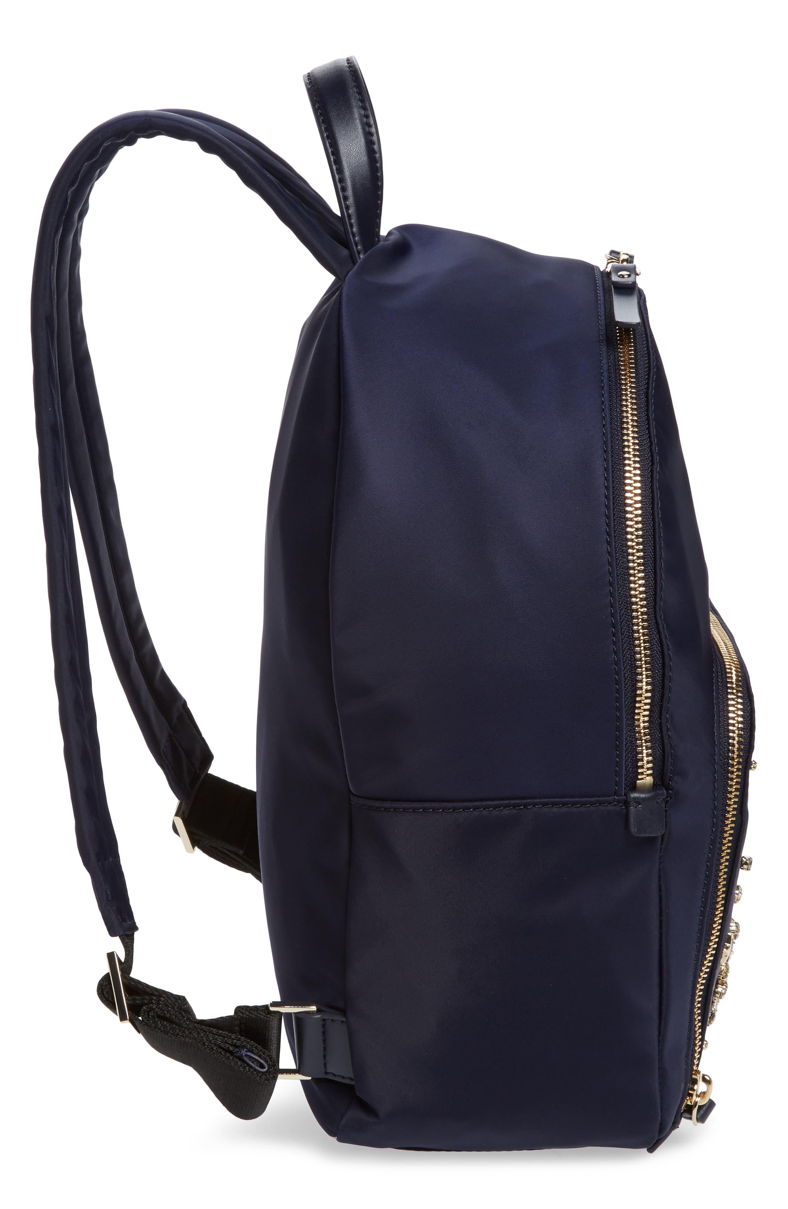watson lane - hartley embellished nylon backpack,                             Alternate thumbnail 5, color,