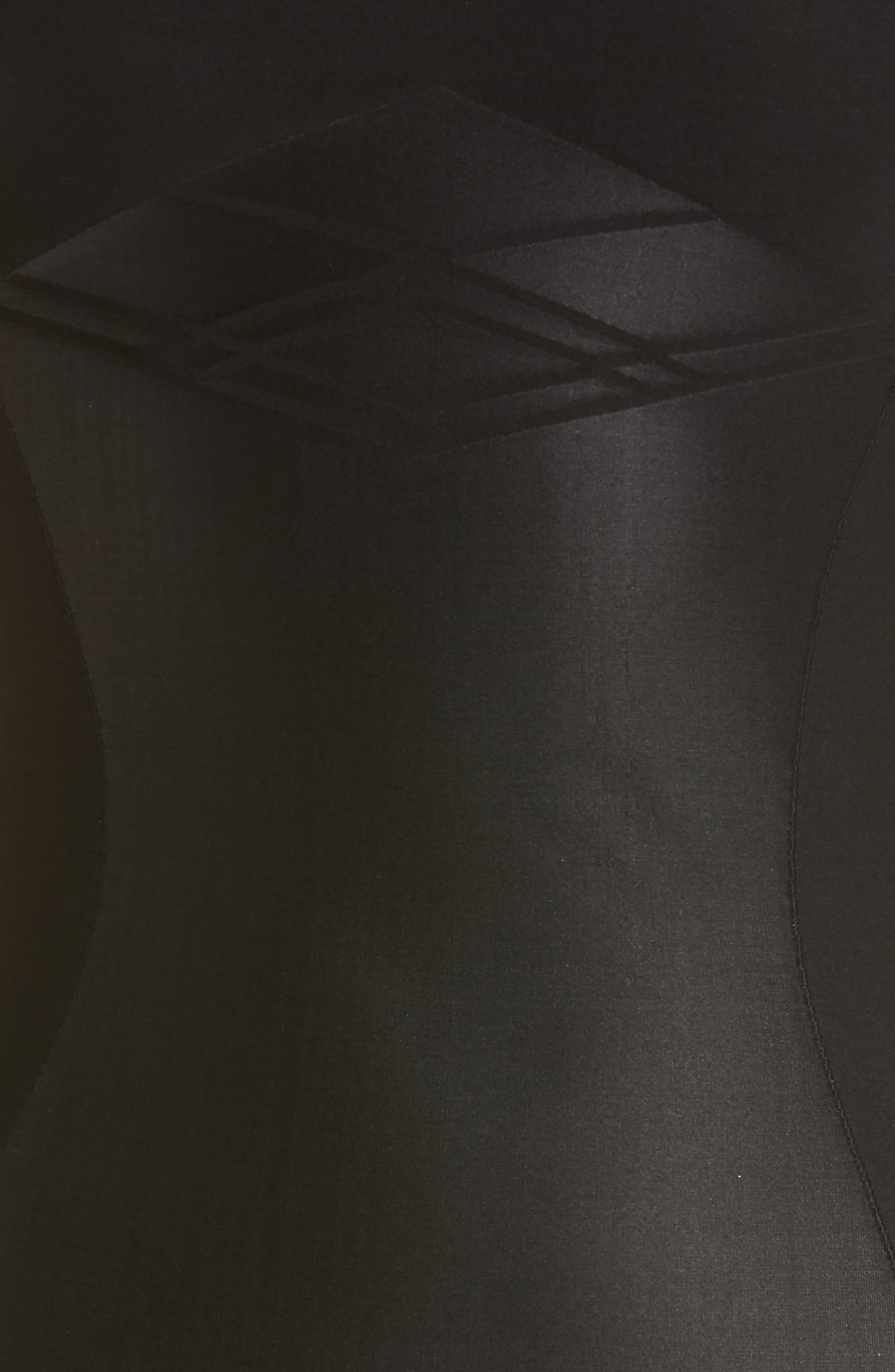 YUMMIE,                             Control Nouveau Seamless Slip,                             Alternate thumbnail 5, color,                             BLACK