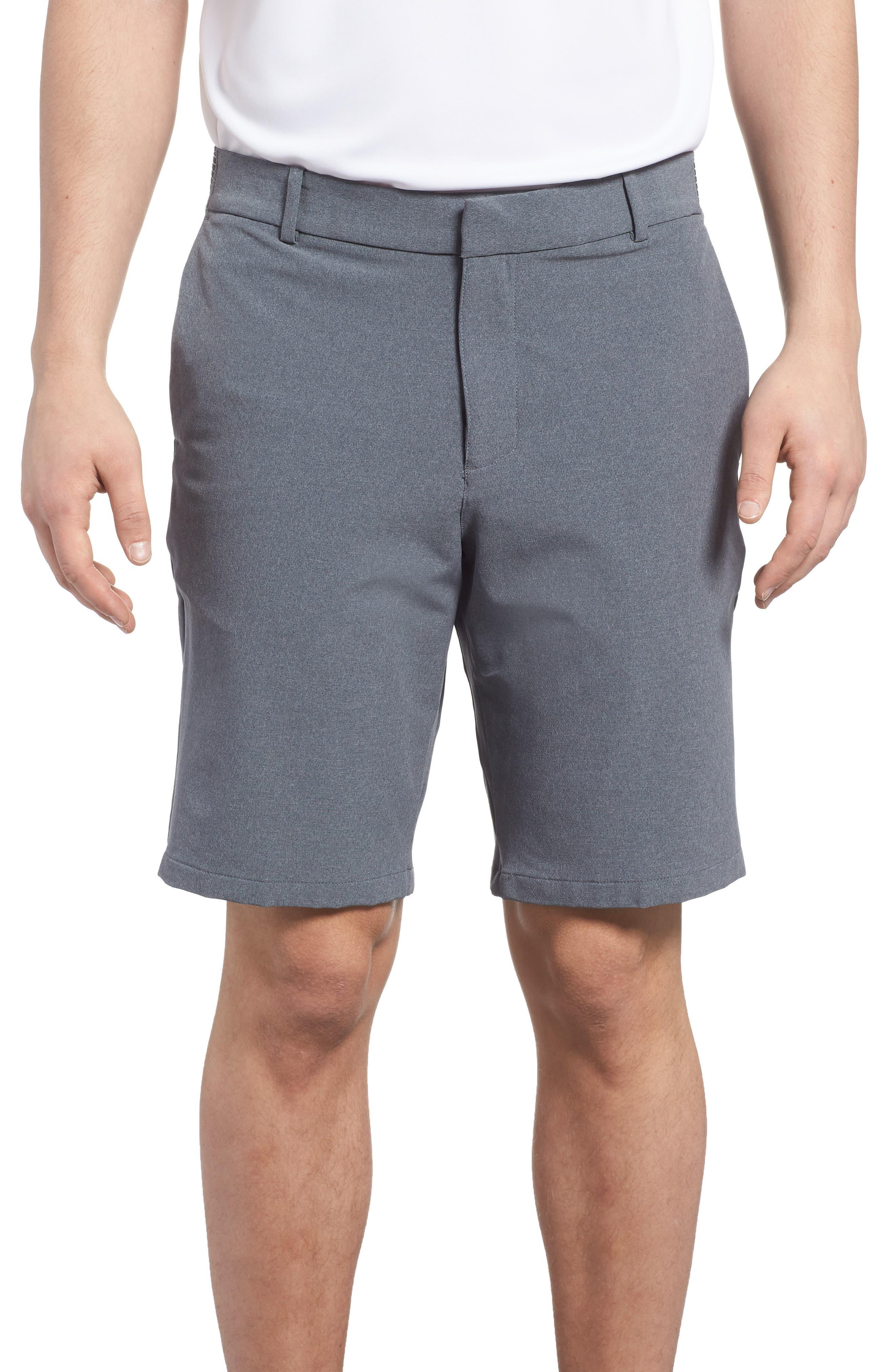 Dry Flex Slim Fit Golf Shorts,                             Main thumbnail 1, color,                             001