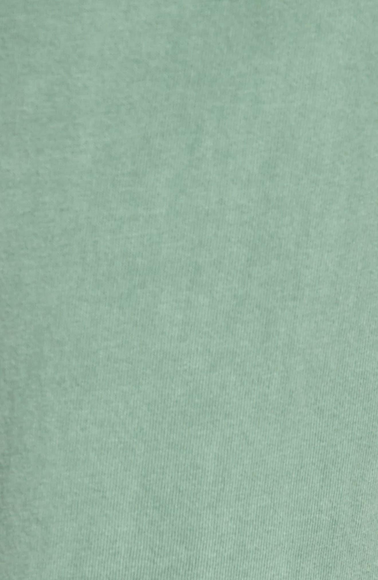 Peruvian Pima Cotton Lounge Pants,                             Alternate thumbnail 5, color,                             MOSS