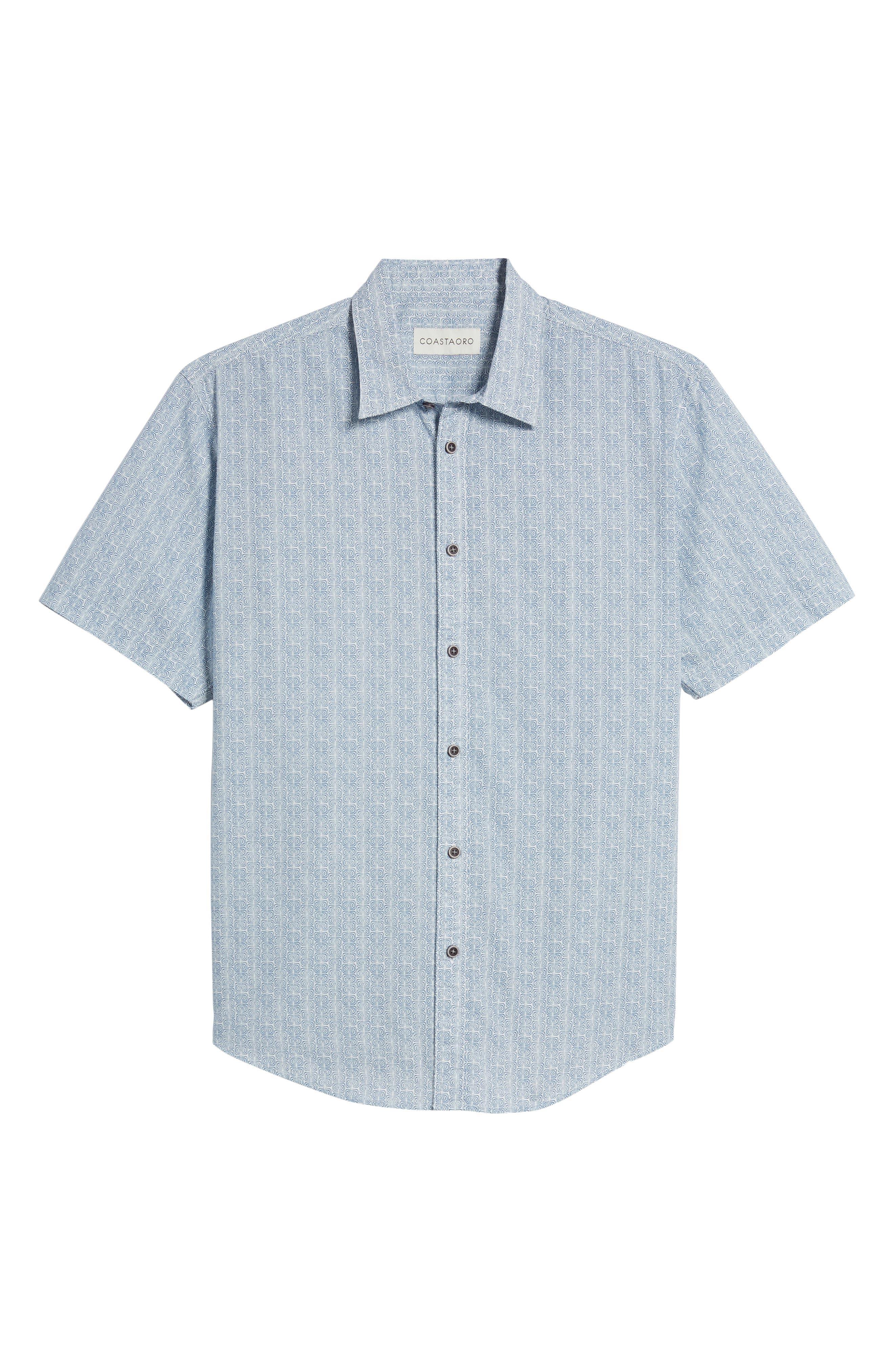 Jacurre Regular Fit Short Sleeve Sport Shirt,                             Alternate thumbnail 6, color,                             462