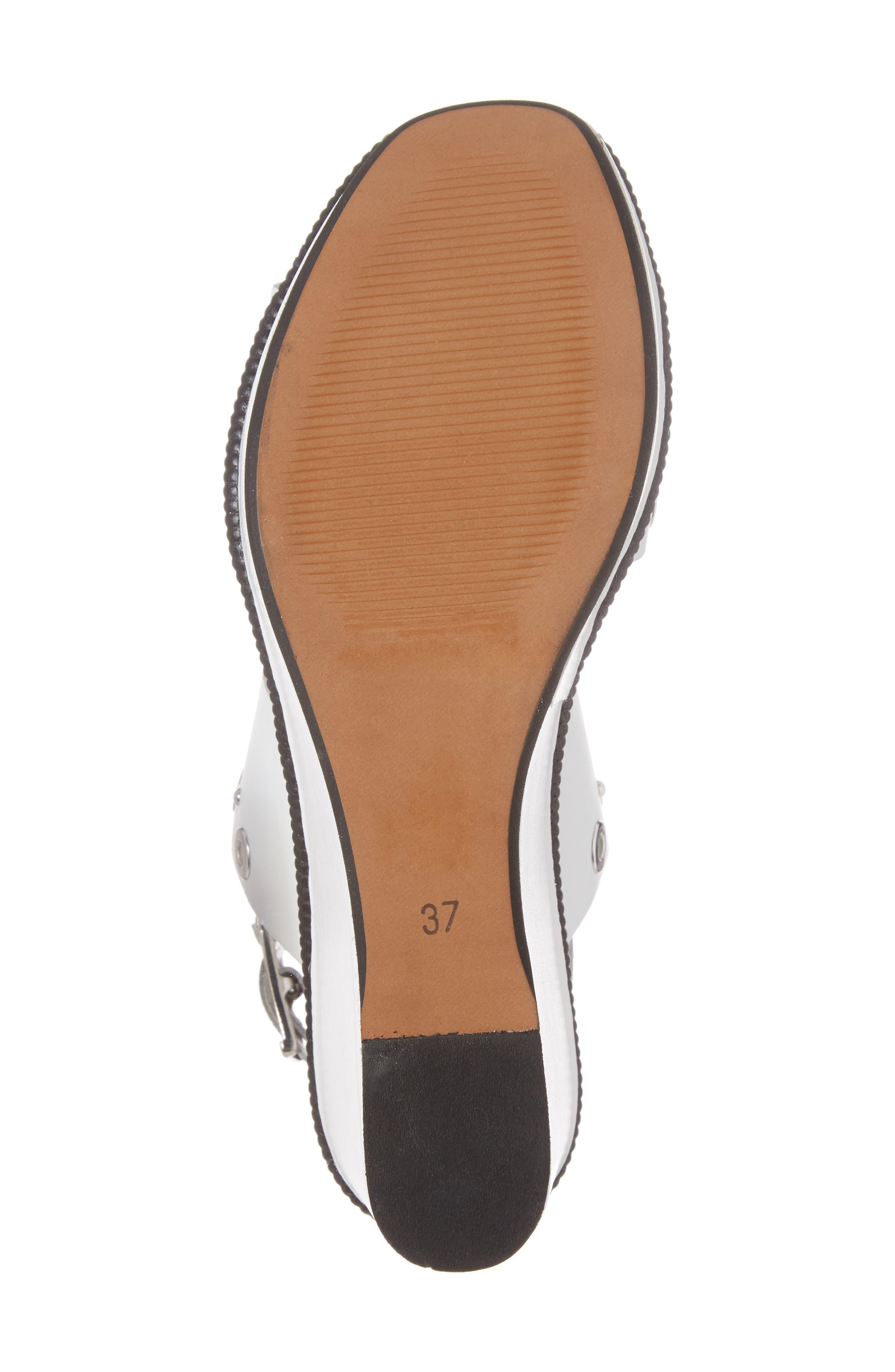 Wizz Grommeted Platform Wedge Sandal,                             Alternate thumbnail 12, color,