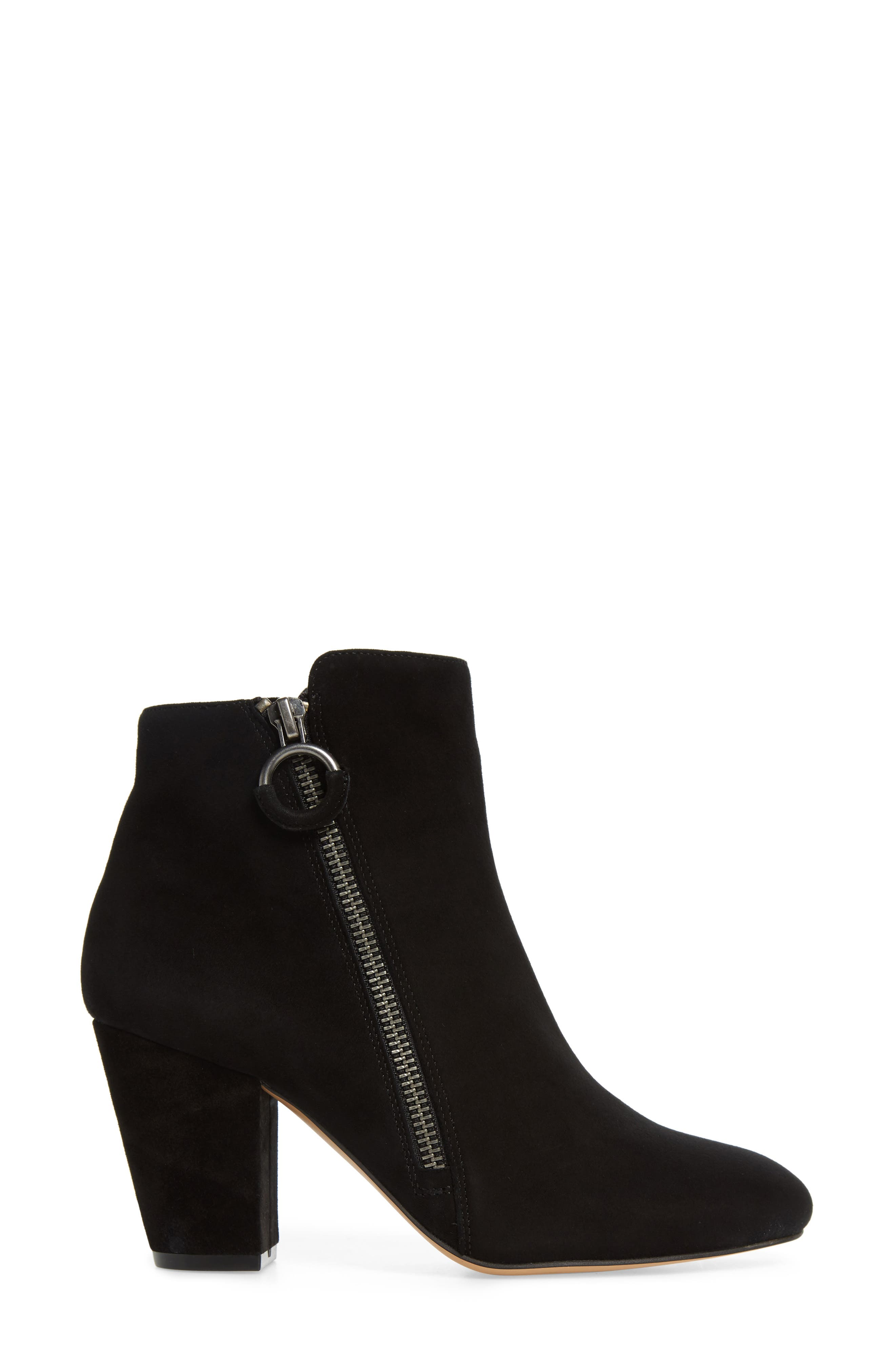 1.STATE,                             Preete Bootie,                             Alternate thumbnail 3, color,                             BLACK SUEDE