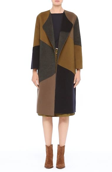 Alternate Video 8  - Lafayette 148 New York Belissa Double Face Reversible Coat
