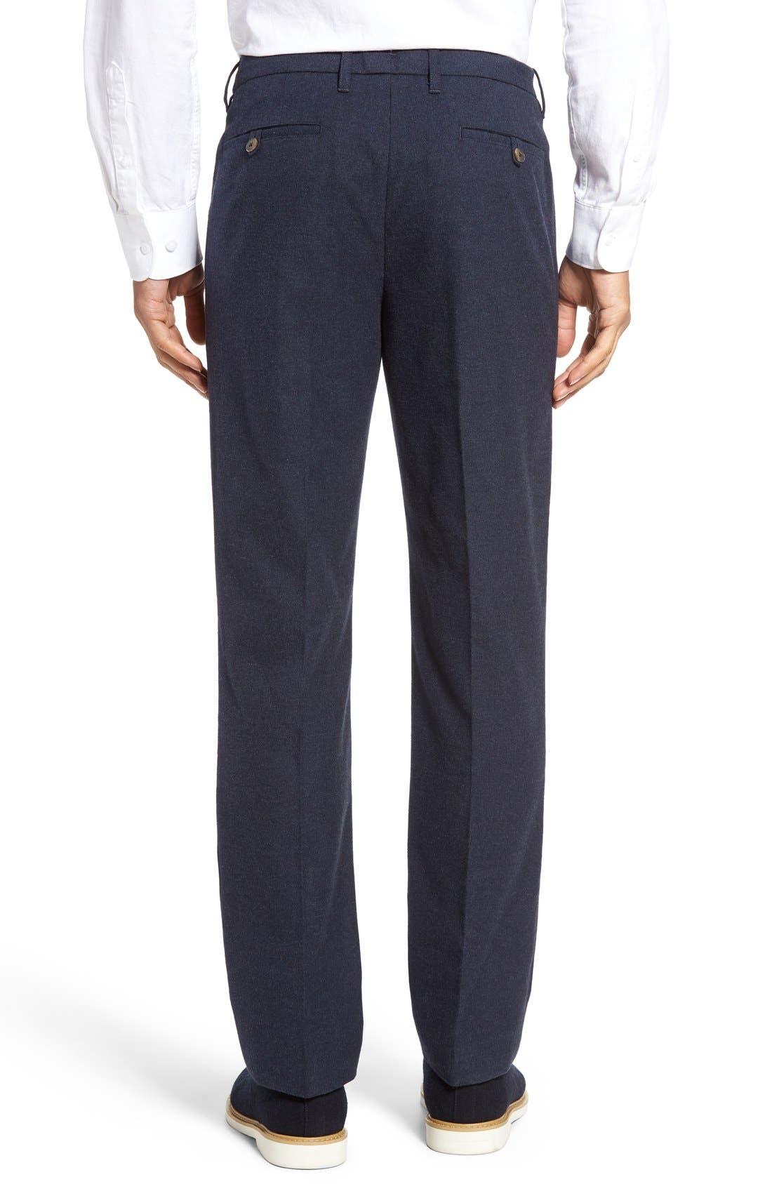 BONOBOS,                             Slim Fit Flannel Trousers,                             Alternate thumbnail 10, color,                             400