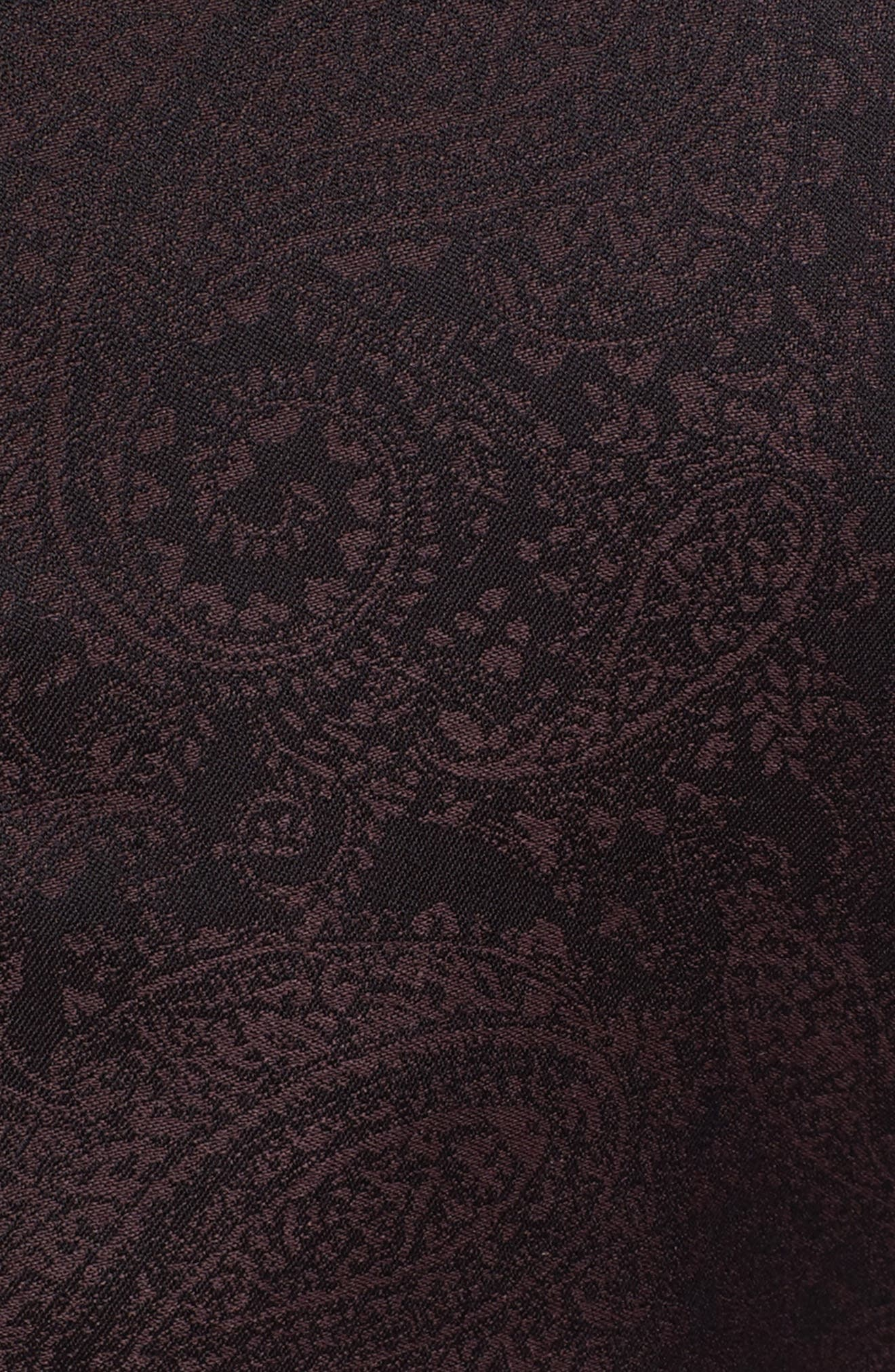 Classic Fit Paisley Wool Dinner Jacket,                             Alternate thumbnail 6, color,                             501