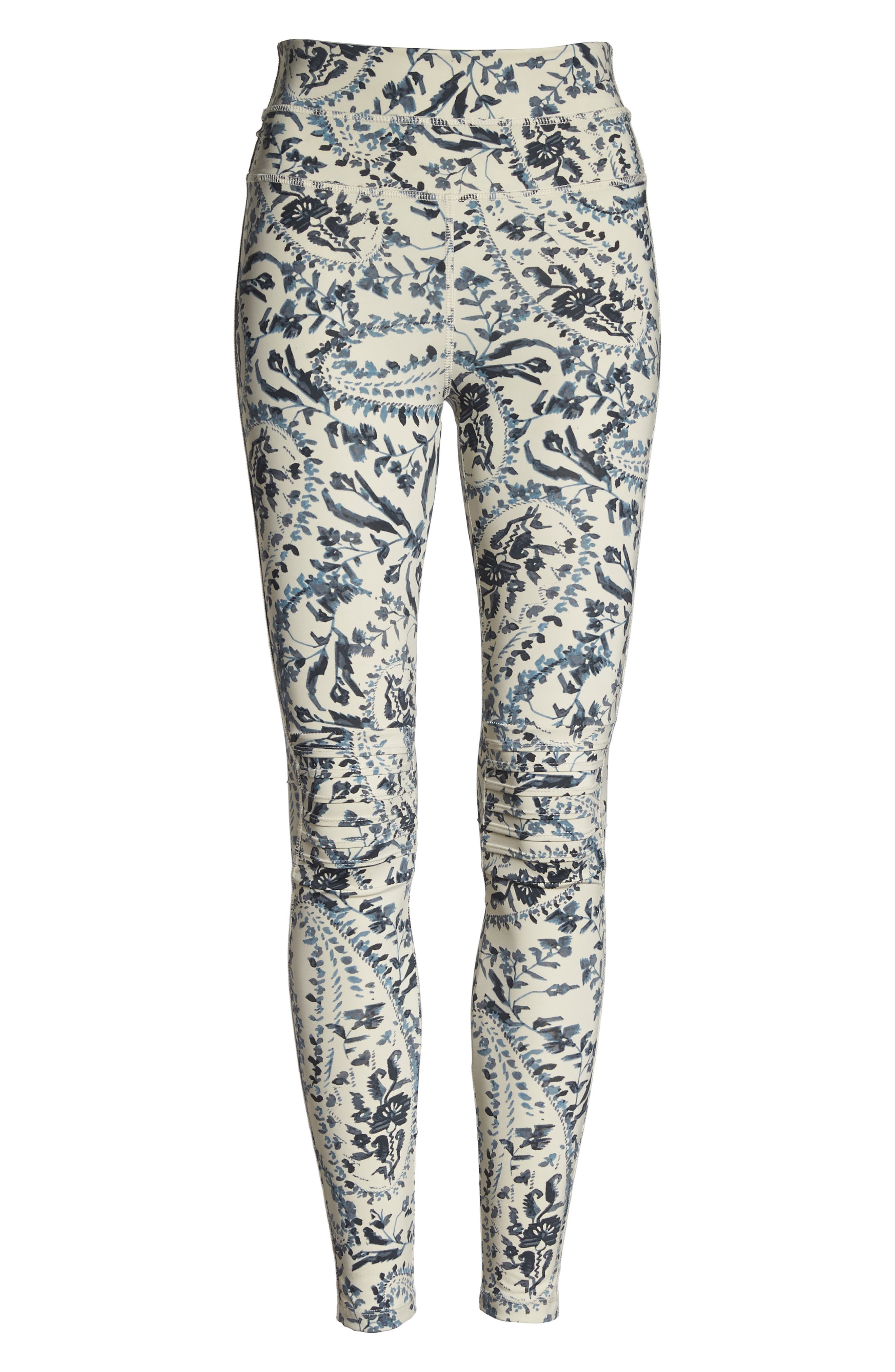 FP Movement Print City Slicker High Waist Leggings,                             Alternate thumbnail 7, color,                             400
