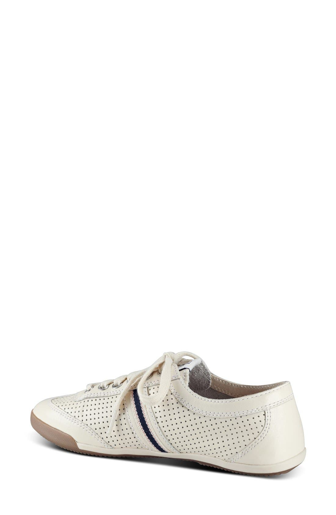 'Escondido' Sneaker,                             Alternate thumbnail 2, color,                             PALE WHITE LEATHER