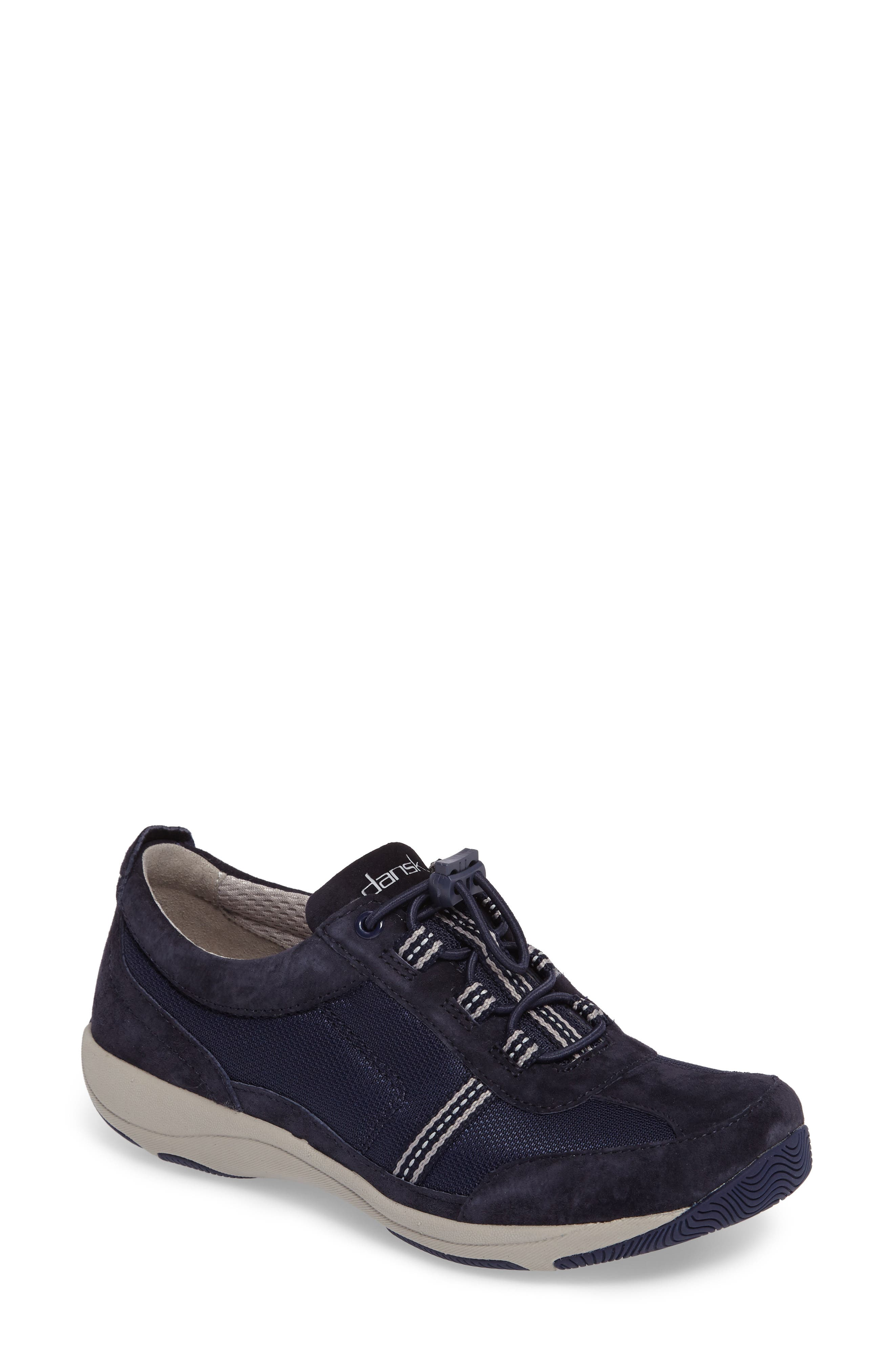 'Helen' Suede & Mesh Sneaker,                             Main thumbnail 14, color,