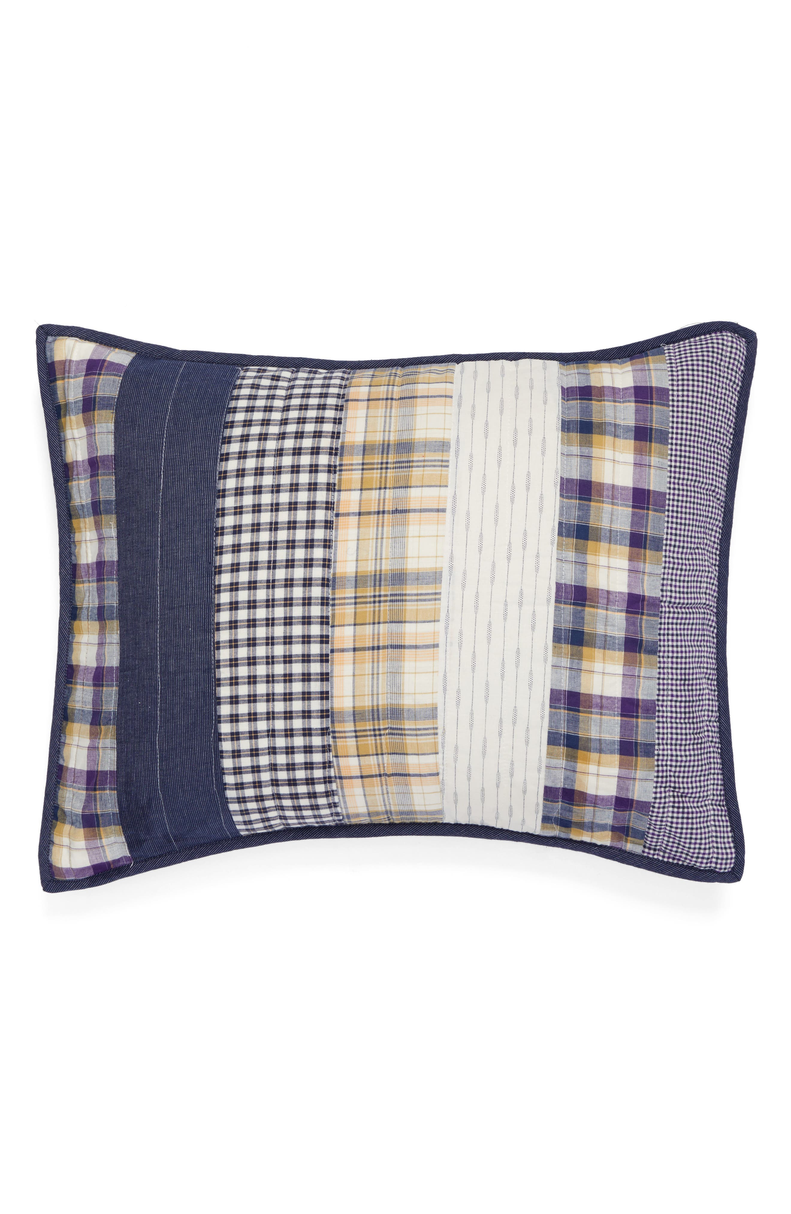 Rangeley Quilted Sham,                         Main,                         color, 400