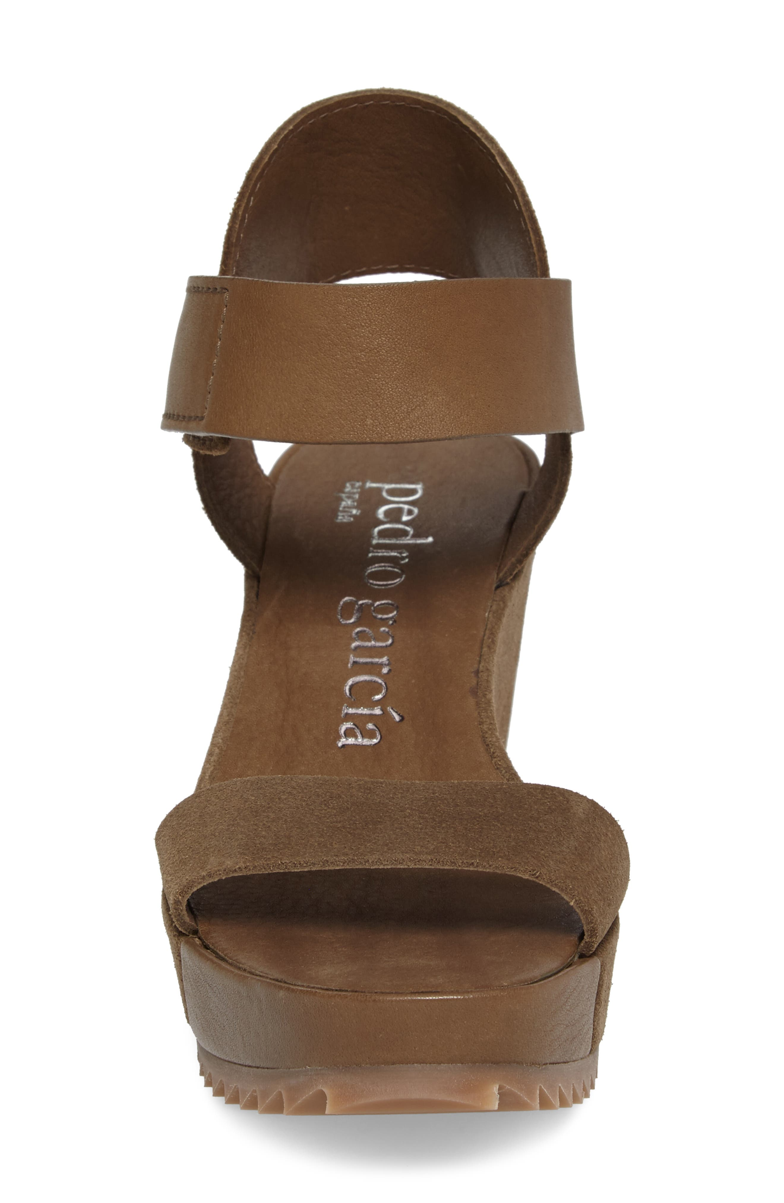 Francesca Wedge Sandal,                             Alternate thumbnail 4, color,                             250