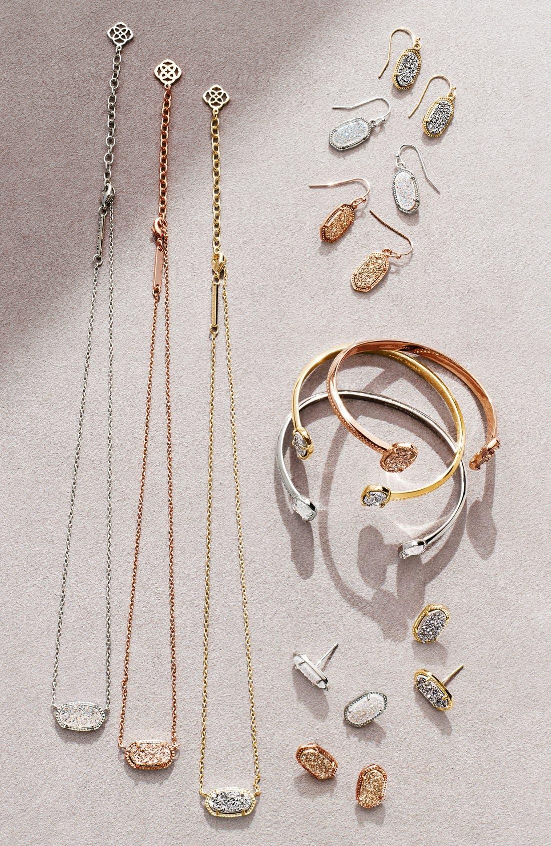 Ellie Oval Stone Stud Earrings,                             Alternate thumbnail 5, color,                             002