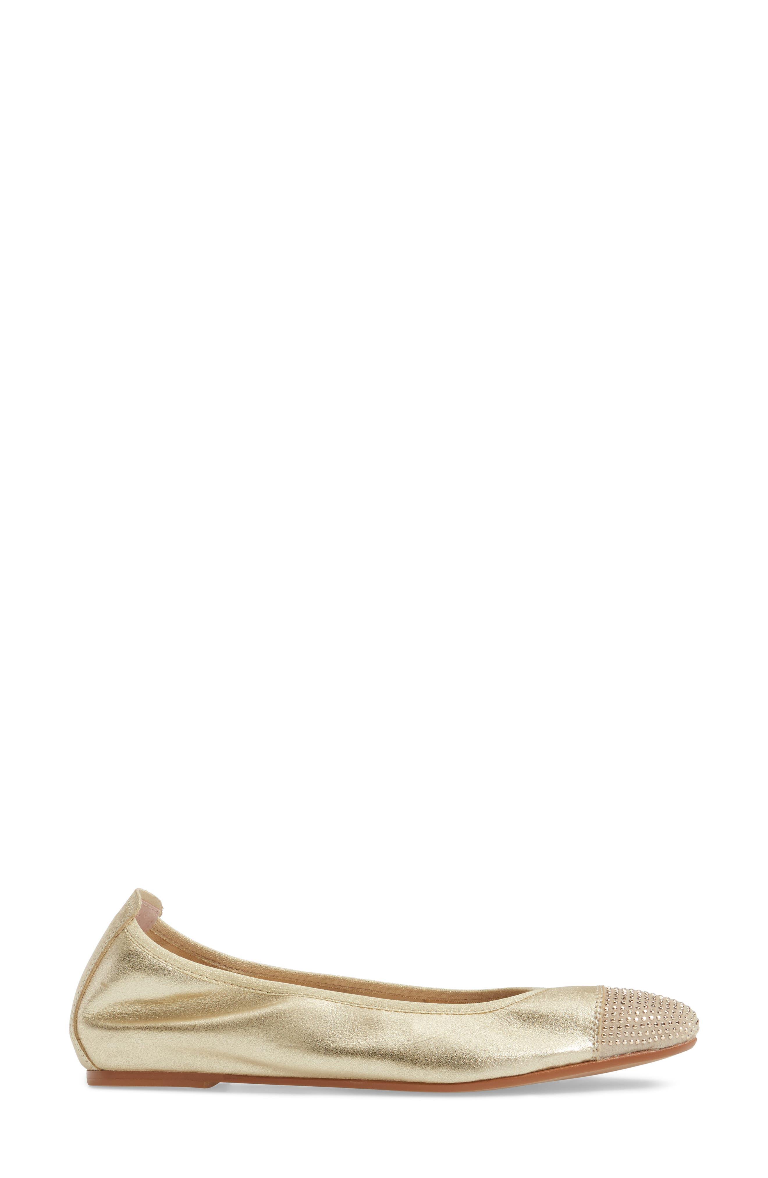 'Starr' Studded Ballet Flat,                             Alternate thumbnail 11, color,