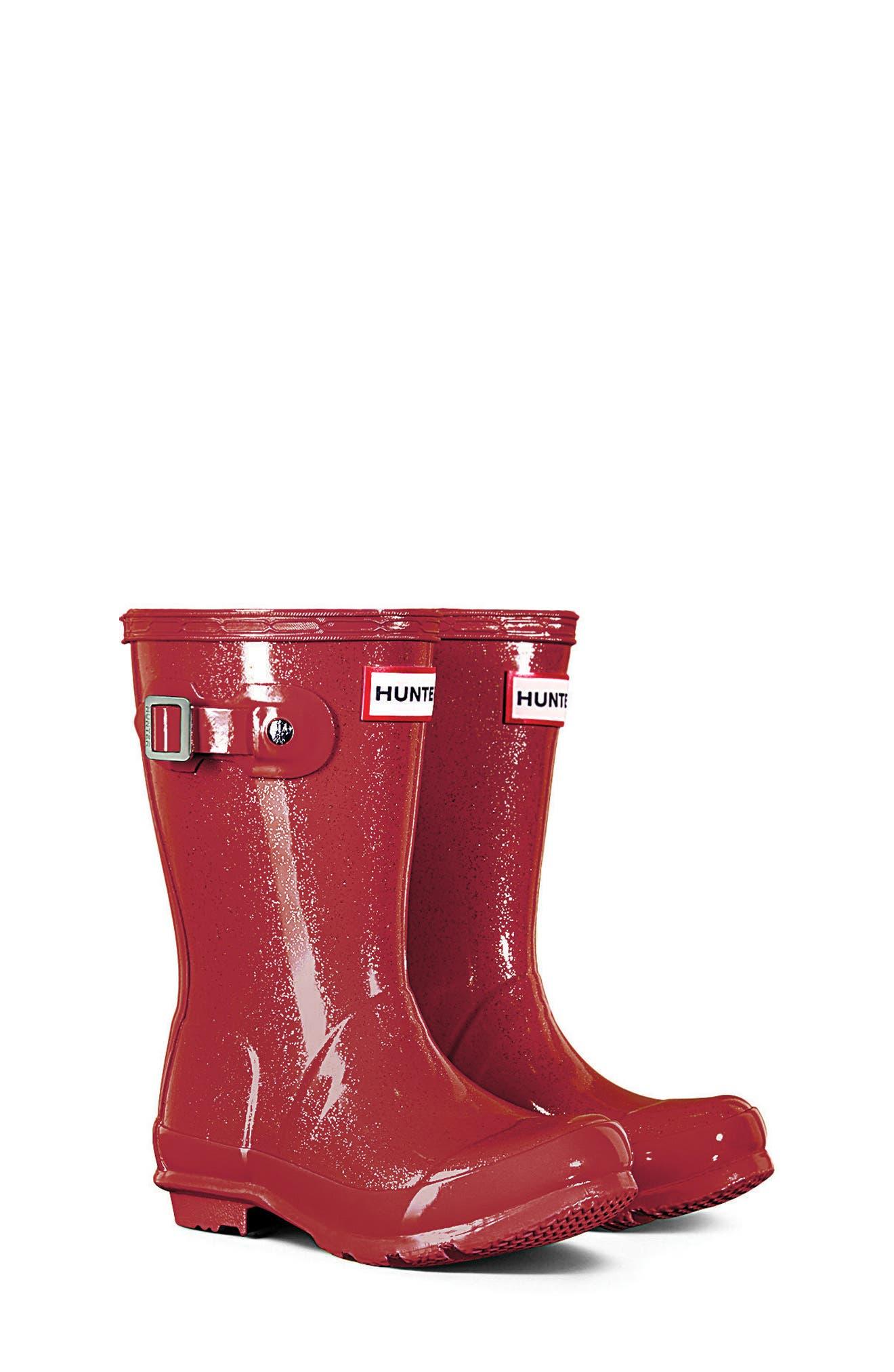 HUNTER Original Glitter Rain Boot, Main, color, 625