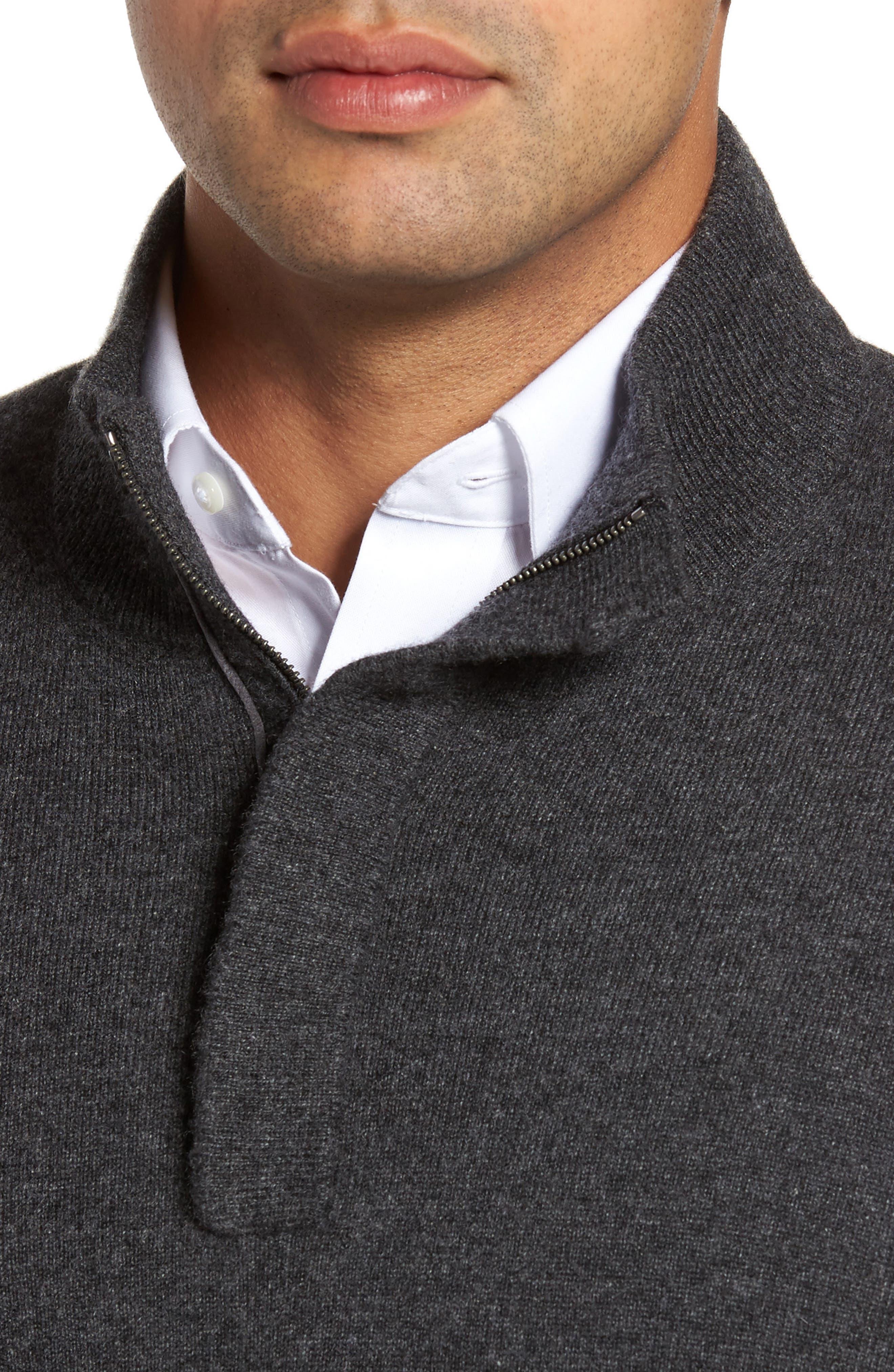 Cashmere Quarter Zip Sweater,                             Alternate thumbnail 20, color,