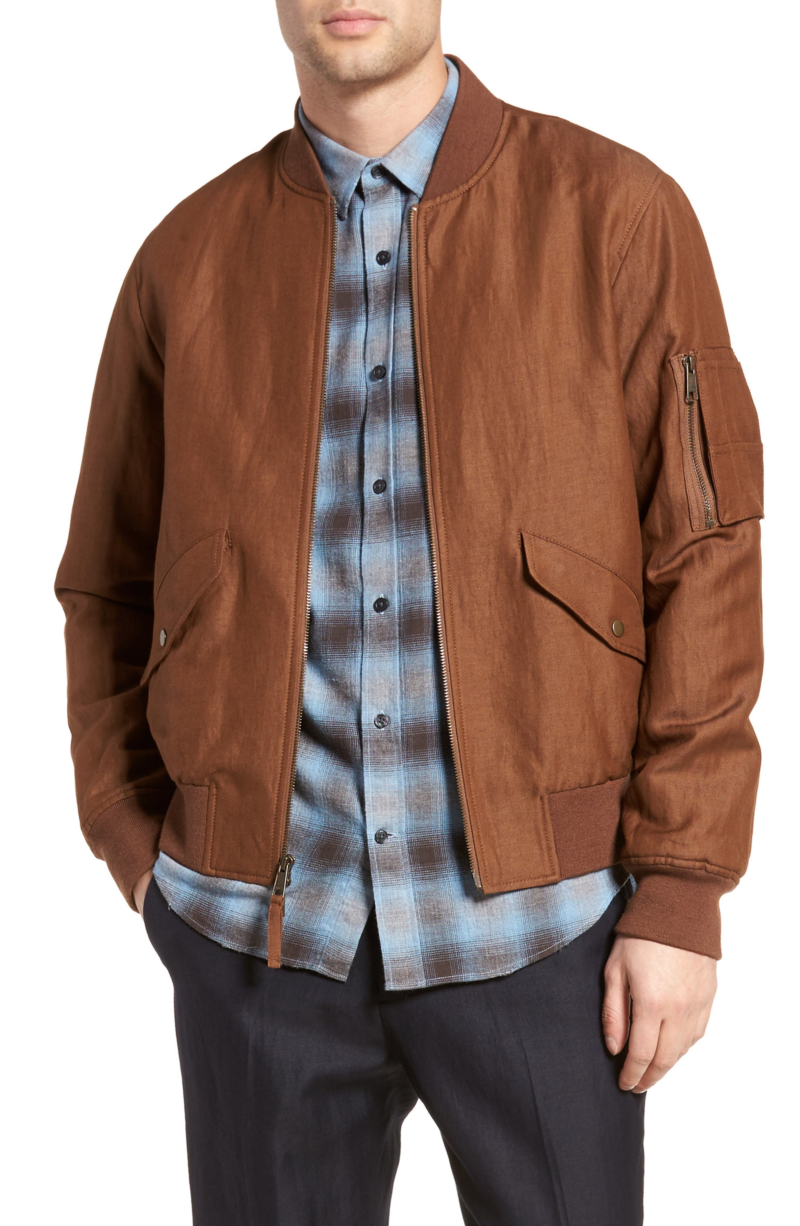 Classic Bomber Jacket,                         Main,                         color, 200