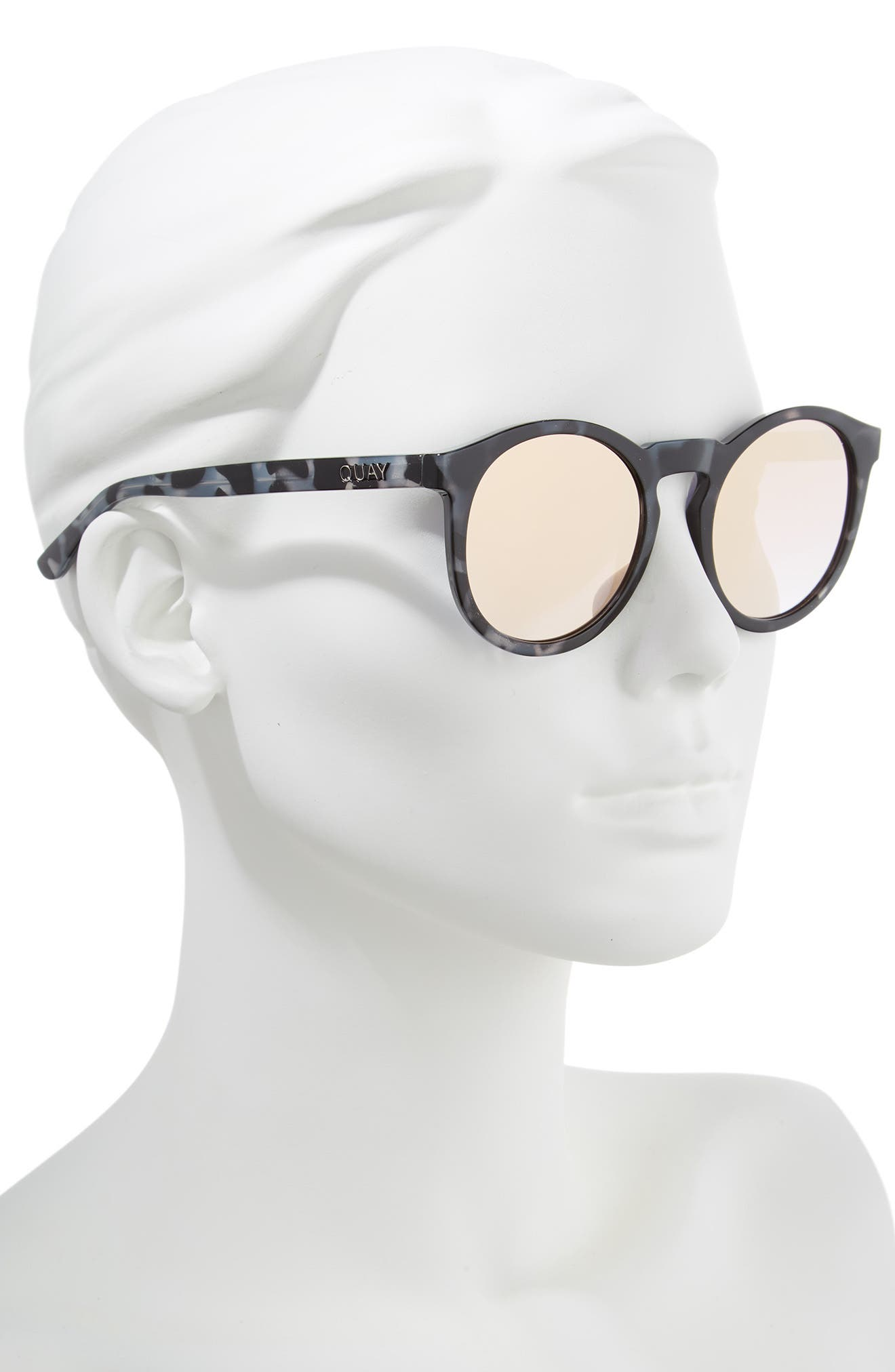 Kosha 49mm Round Sunglasses,                             Alternate thumbnail 4, color,