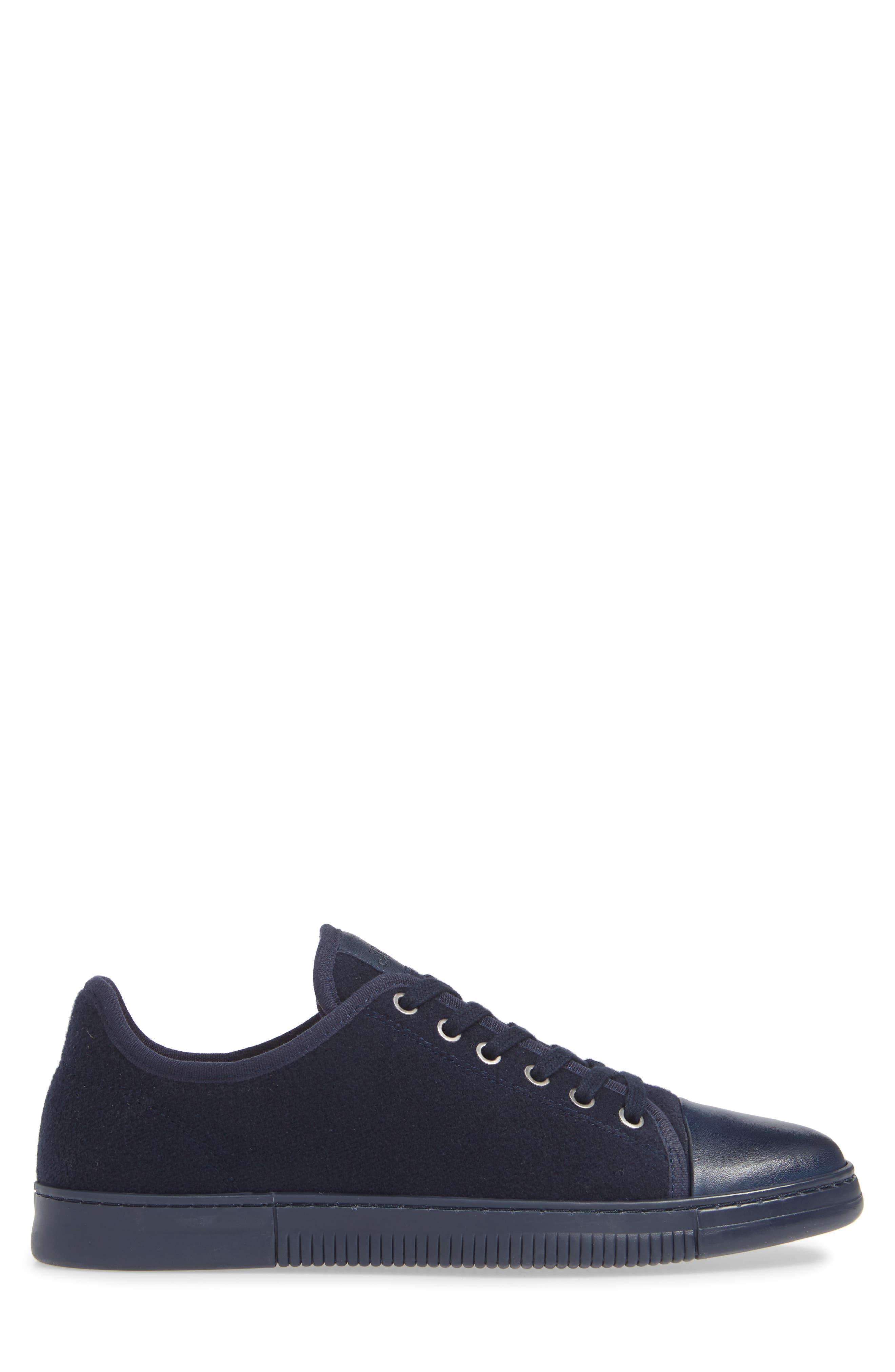 Jovani Sneaker,                             Alternate thumbnail 3, color,                             BLUE FABRIC
