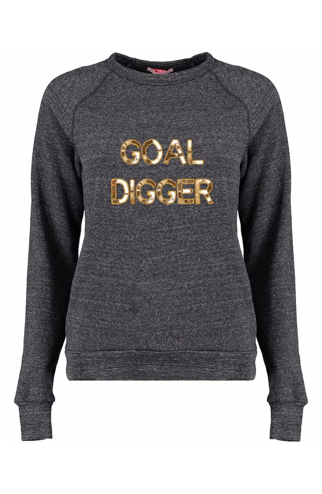 'Goal Digger' Sweatshirt, Main, color, 021