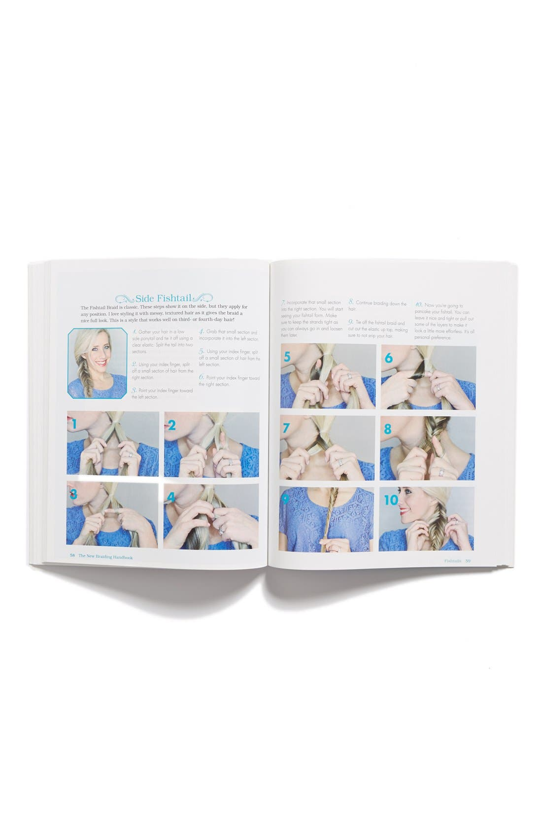 'The New Braiding Handbook: 60 Modern Twists on the Classic Hairstyle' Book,                             Alternate thumbnail 2, color,                             405
