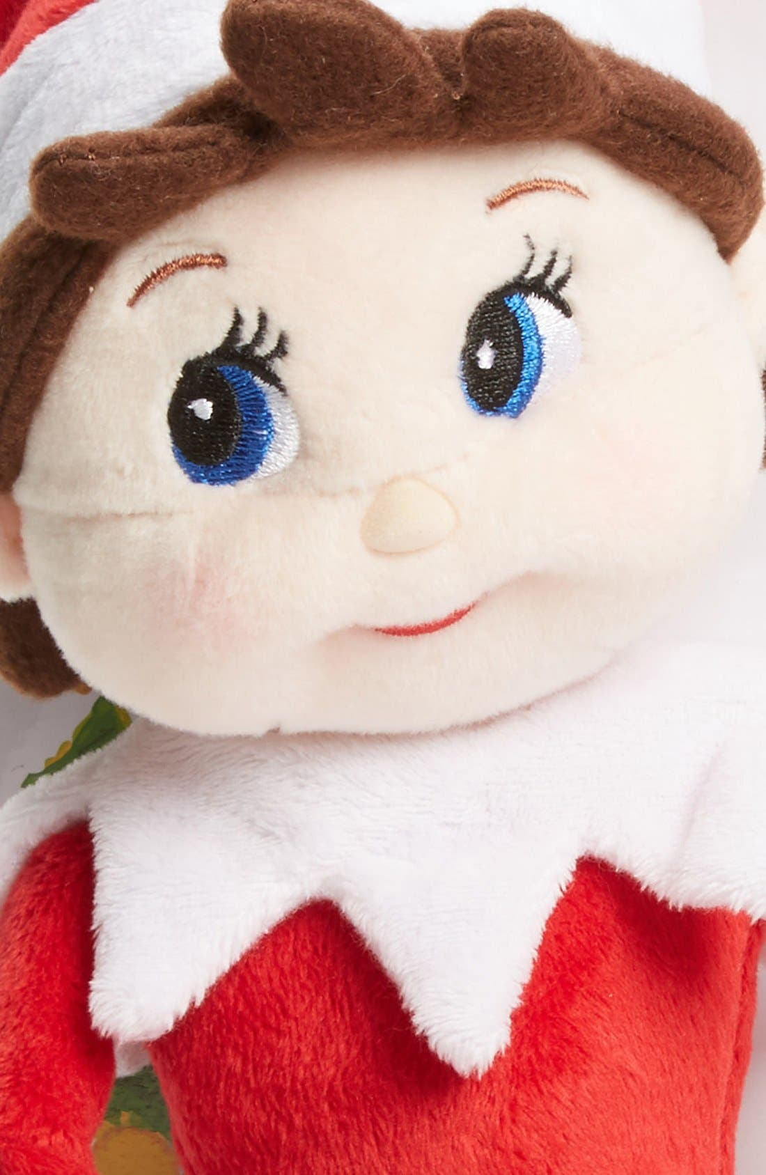 Plushee Pals<sup>®</sup> Girl Scout Elf,                             Alternate thumbnail 2, color,                             RED