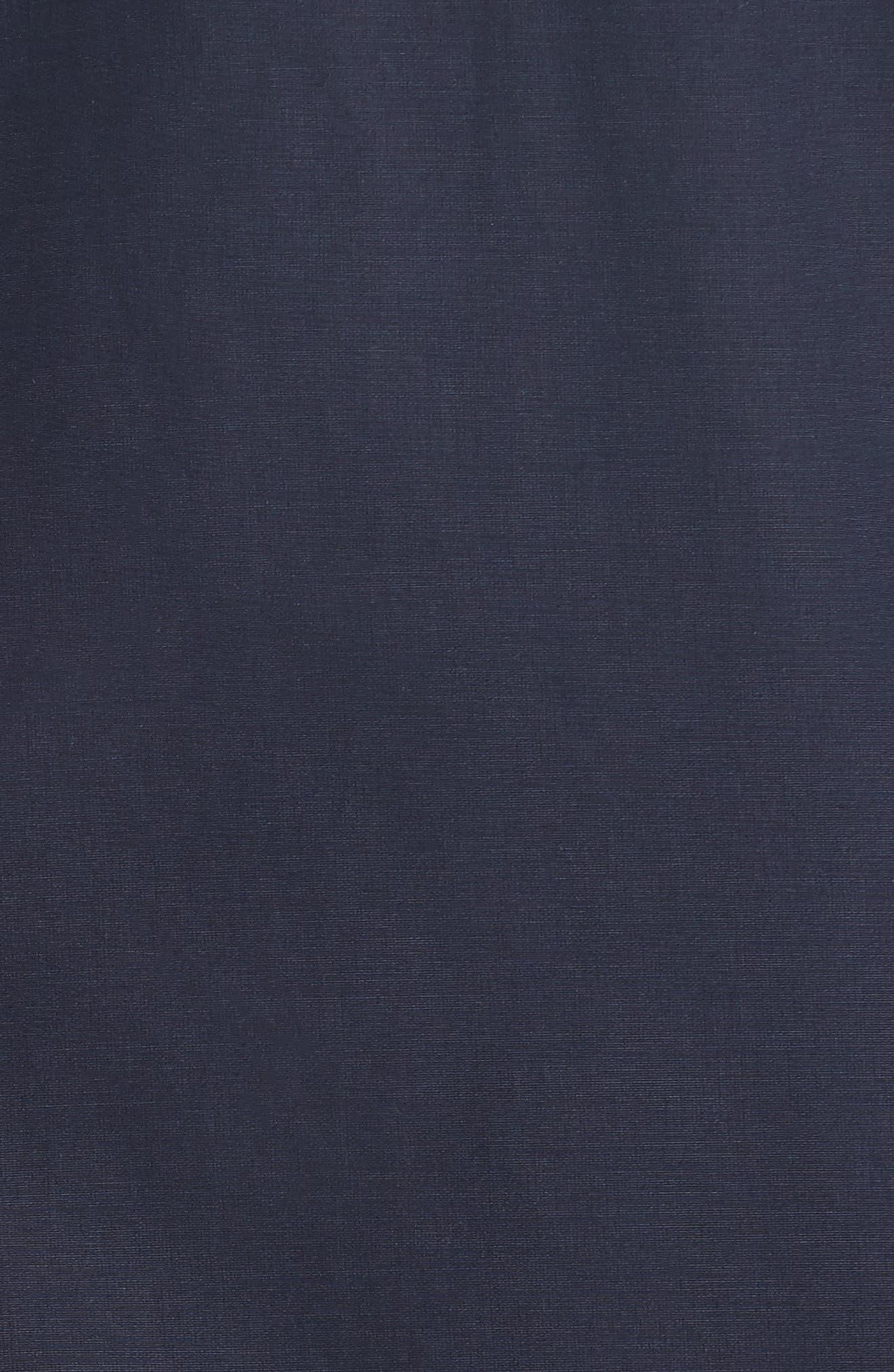 Zip Hooded Jacket,                             Alternate thumbnail 5, color,                             NAVY BLUE