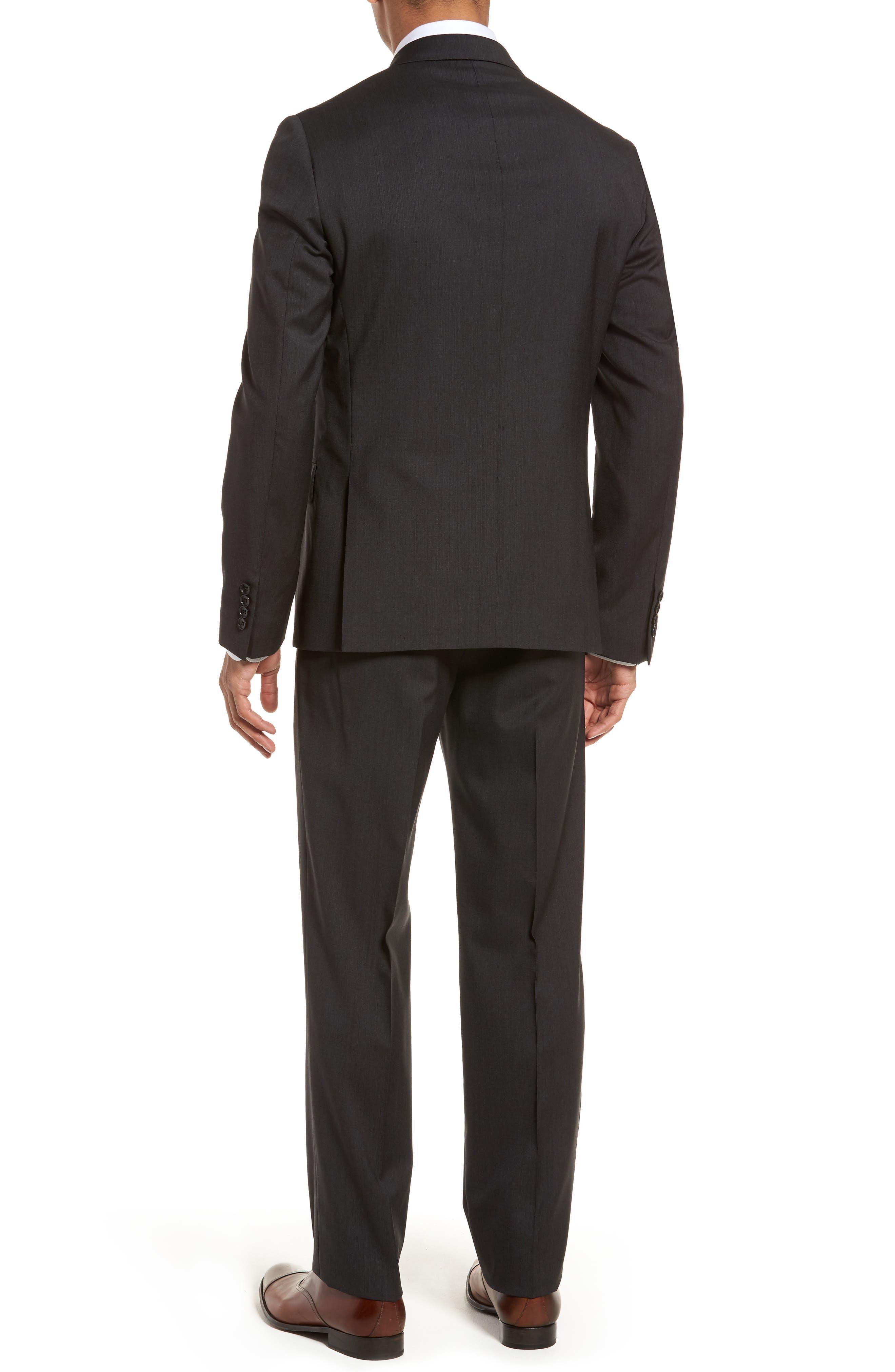 Classic Fit Check Suit,                             Alternate thumbnail 2, color,                             020