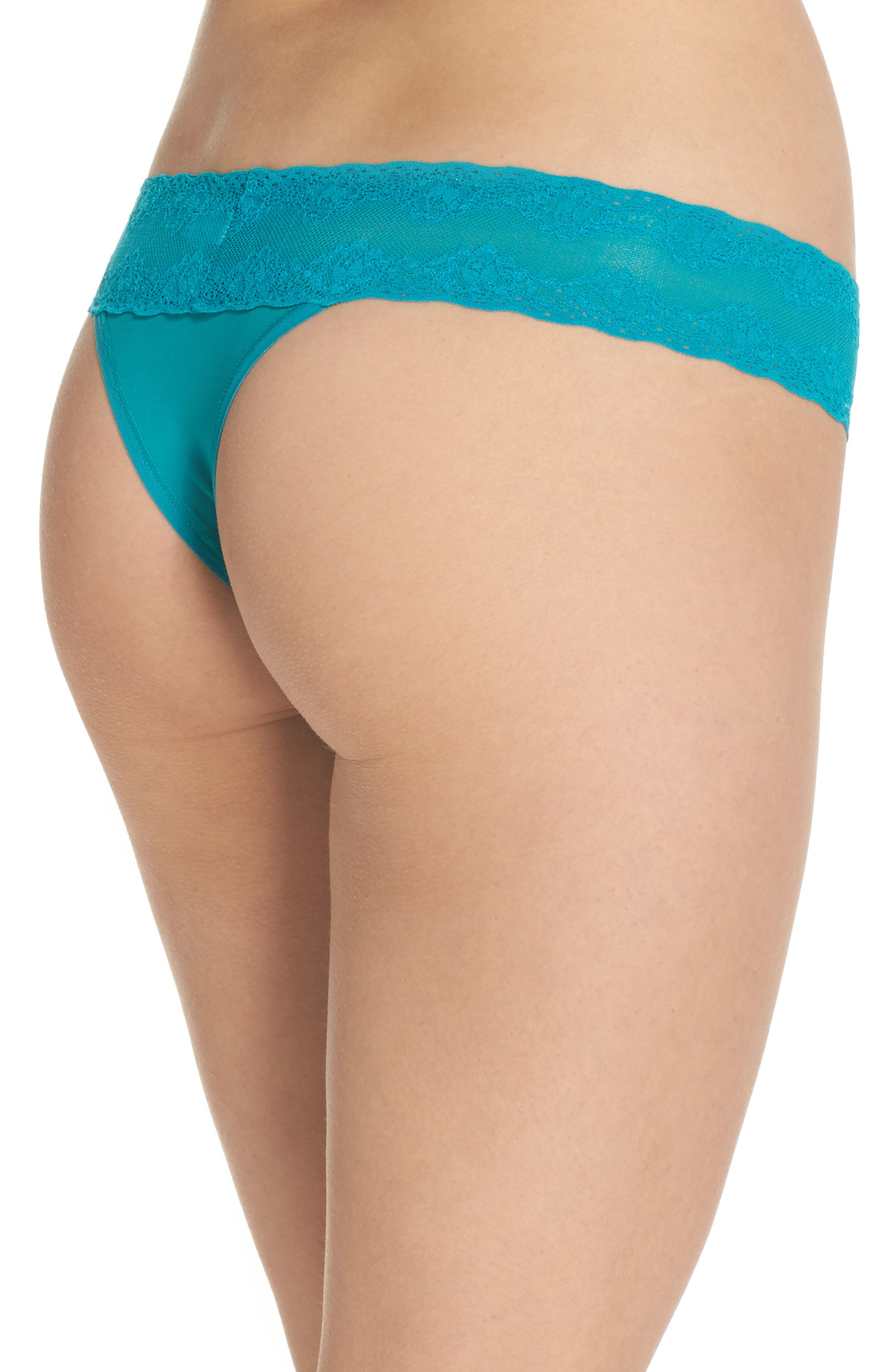 Bliss Perfection Thong,                             Alternate thumbnail 107, color,