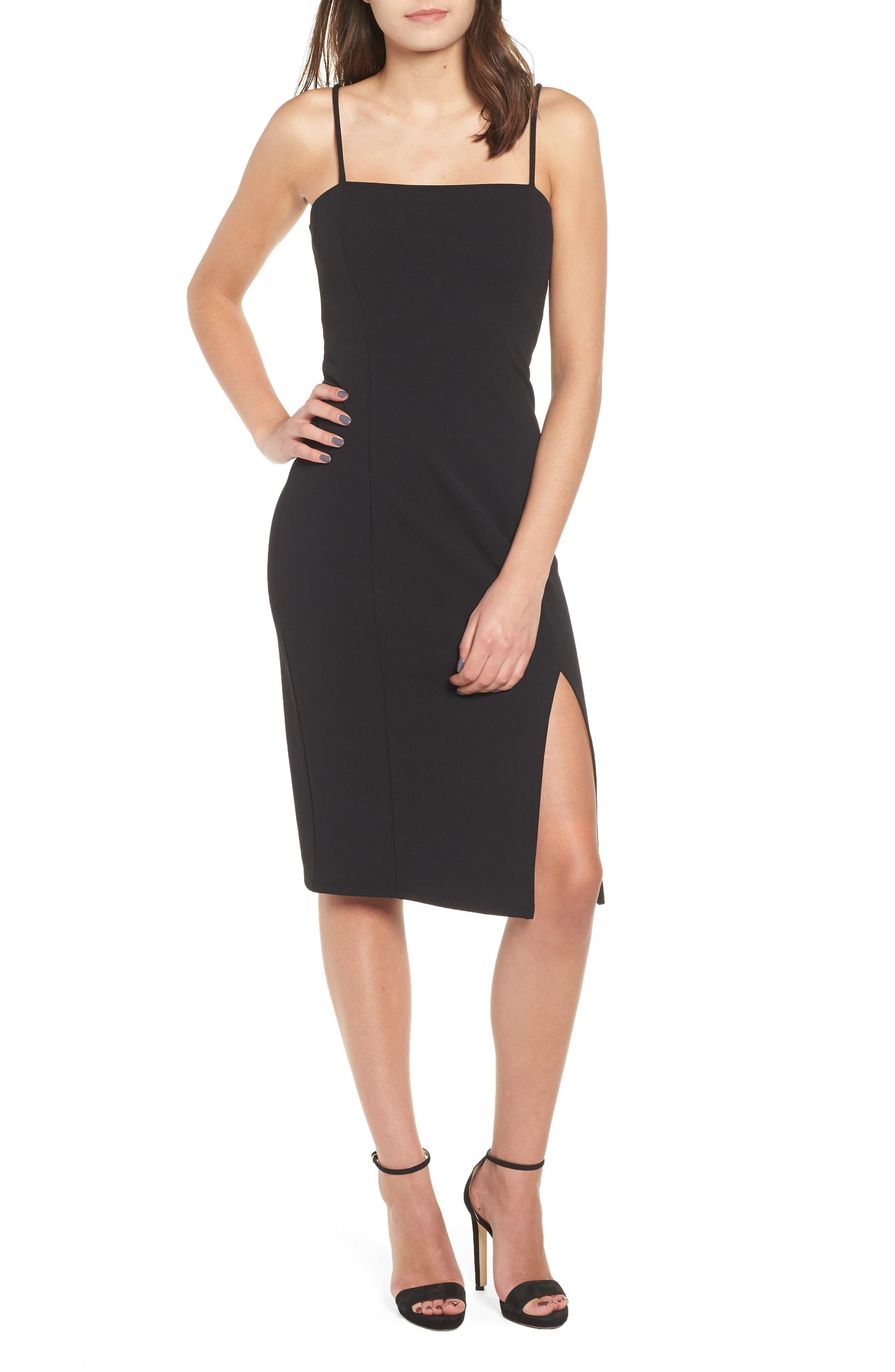 Leith Sheath Dress, Black