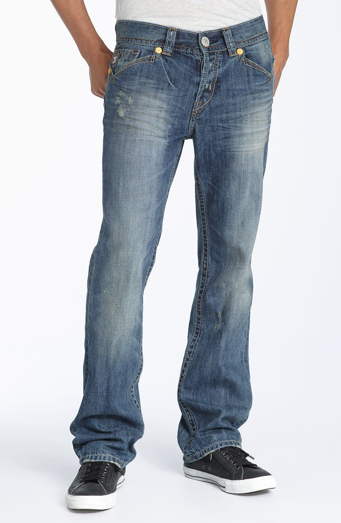 MEK DENIM,                             Straight Leg Jeans,                             Alternate thumbnail 2, color,                             420