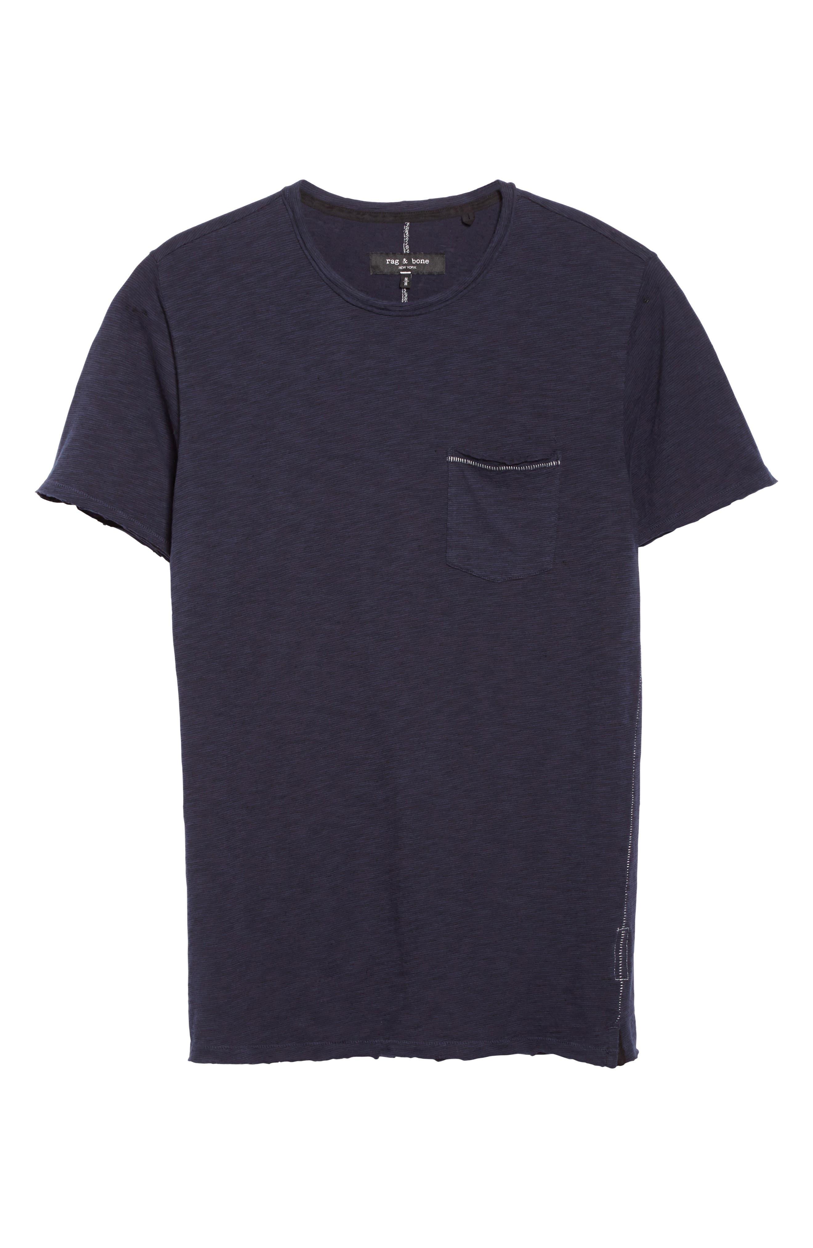 Owen Pocket T-Shirt,                             Alternate thumbnail 6, color,                             410