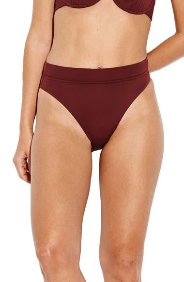 3fd8e3c77a2a3 Seafolly Active High Waist Bikini Bottoms