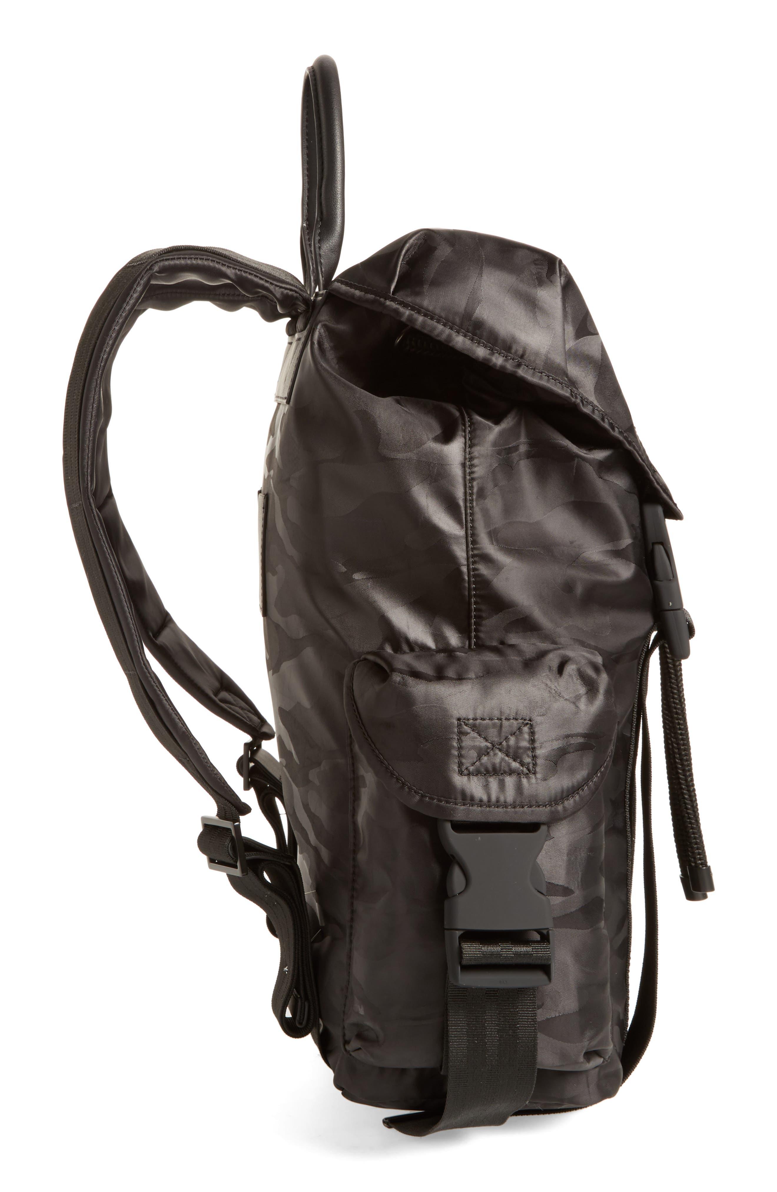 Jordyn Nylon Backpack,                             Alternate thumbnail 13, color,