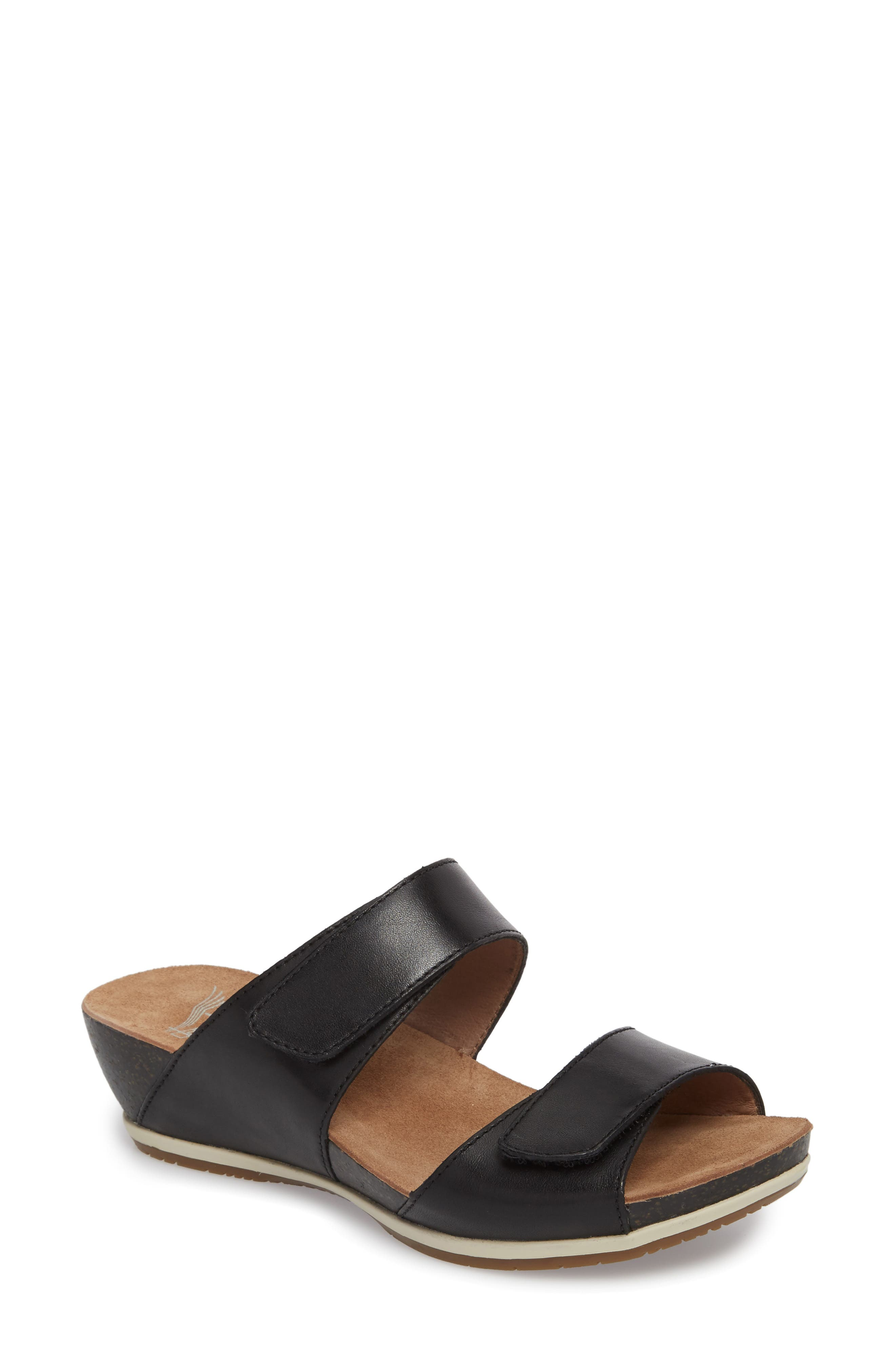 Vienna Slide Sandal,                         Main,                         color,