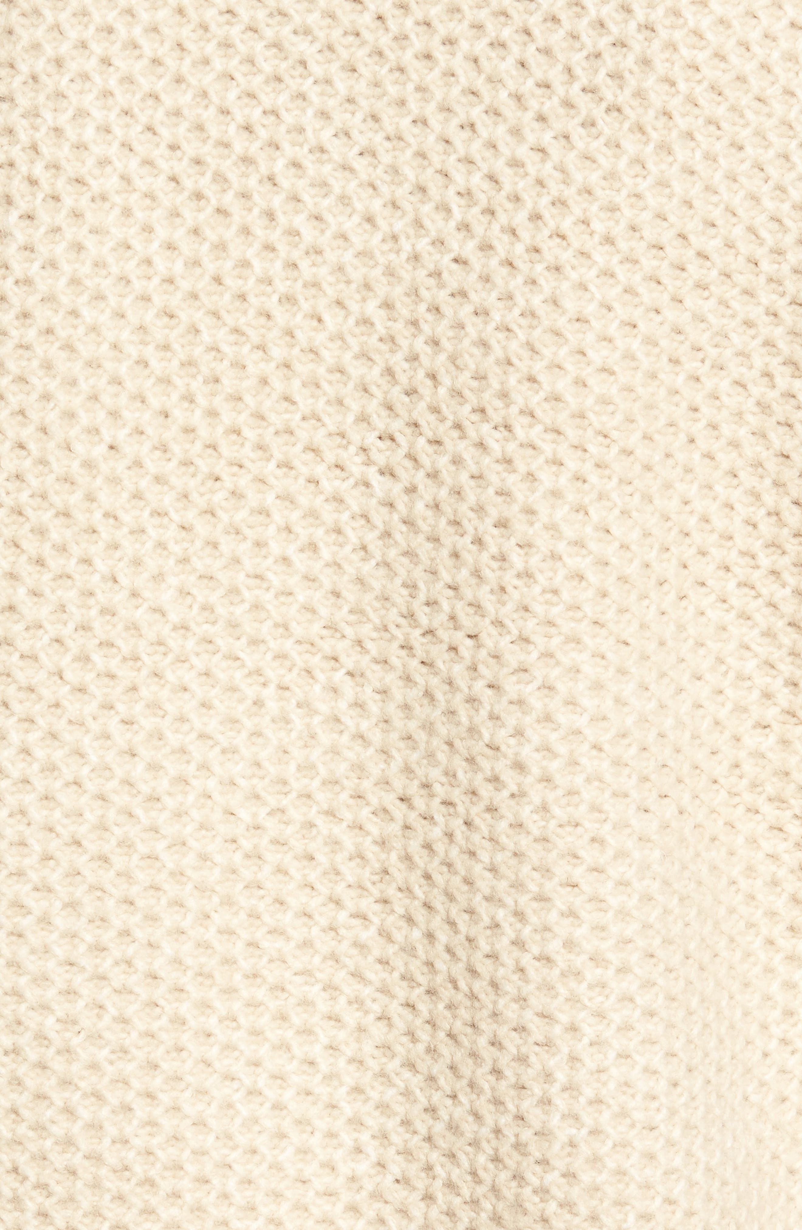 Drape Front Knit Cardigan,                             Alternate thumbnail 5, color,