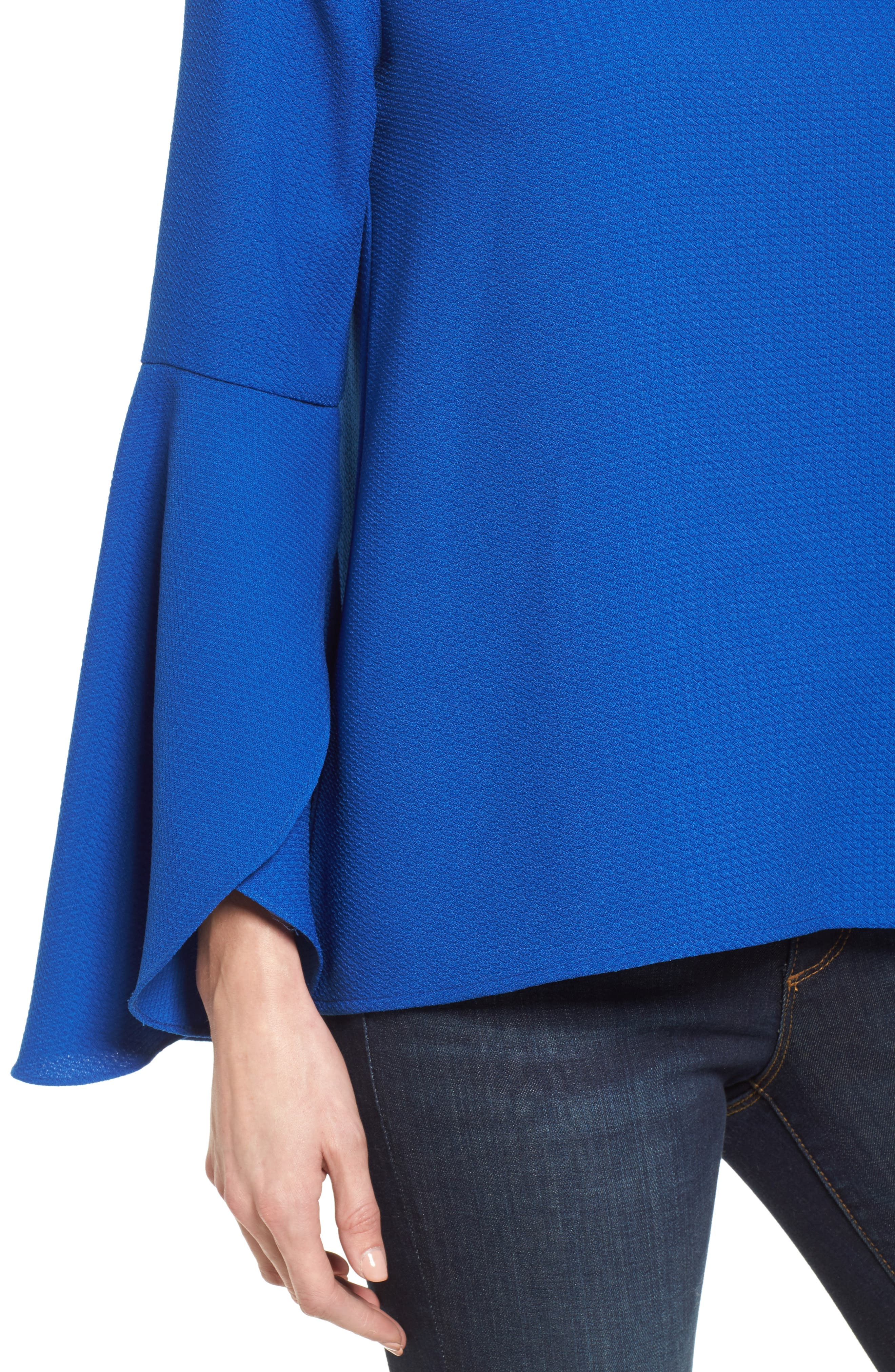 Bell Sleeve Top,                             Alternate thumbnail 4, color,                             420