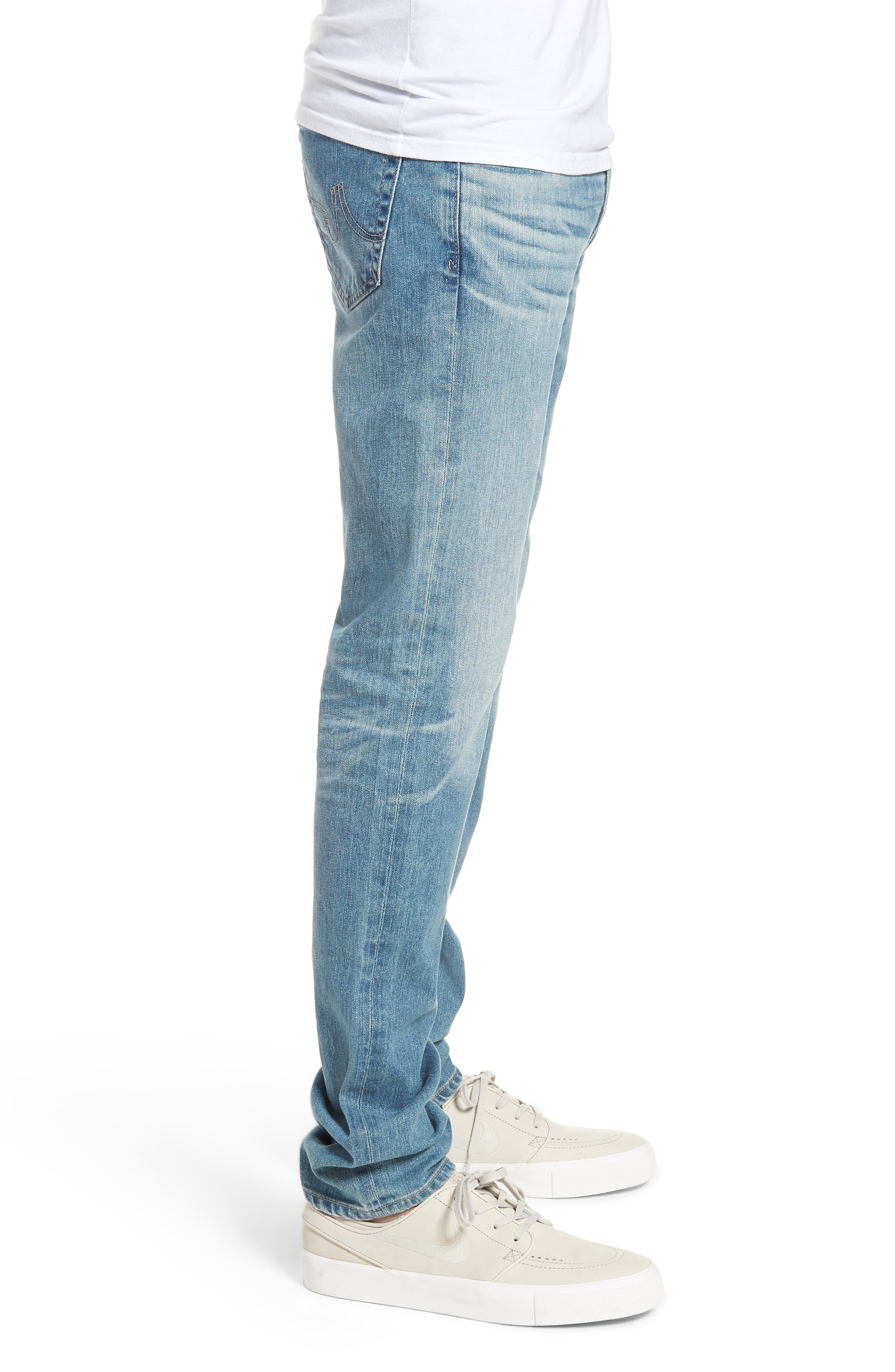 Dylan Skinny Fit Jeans,                             Alternate thumbnail 3, color,                             18 YEARS OCEANO