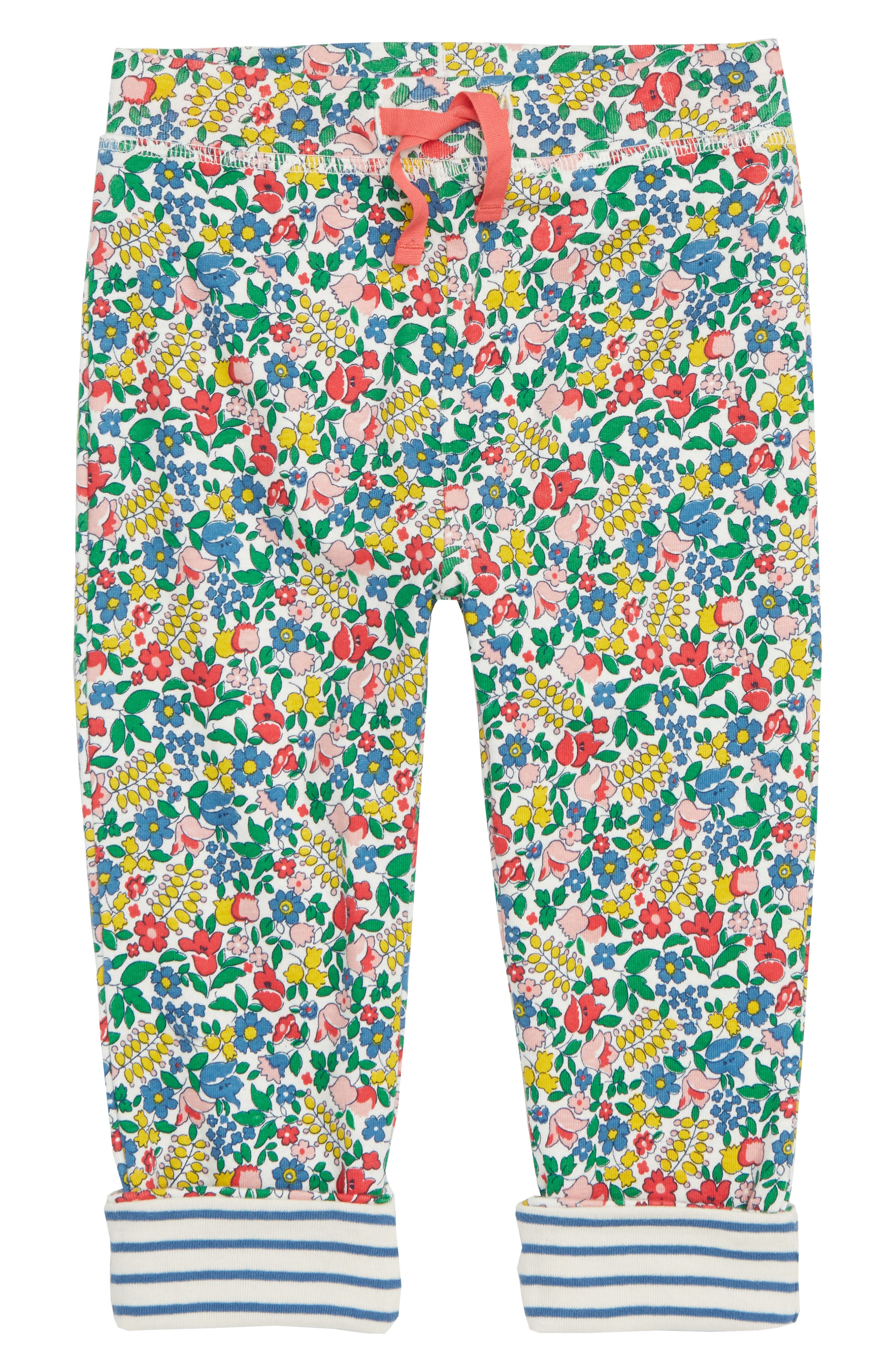 Supersoft Reversible Pants,                             Main thumbnail 1, color,                             FLOWERBED