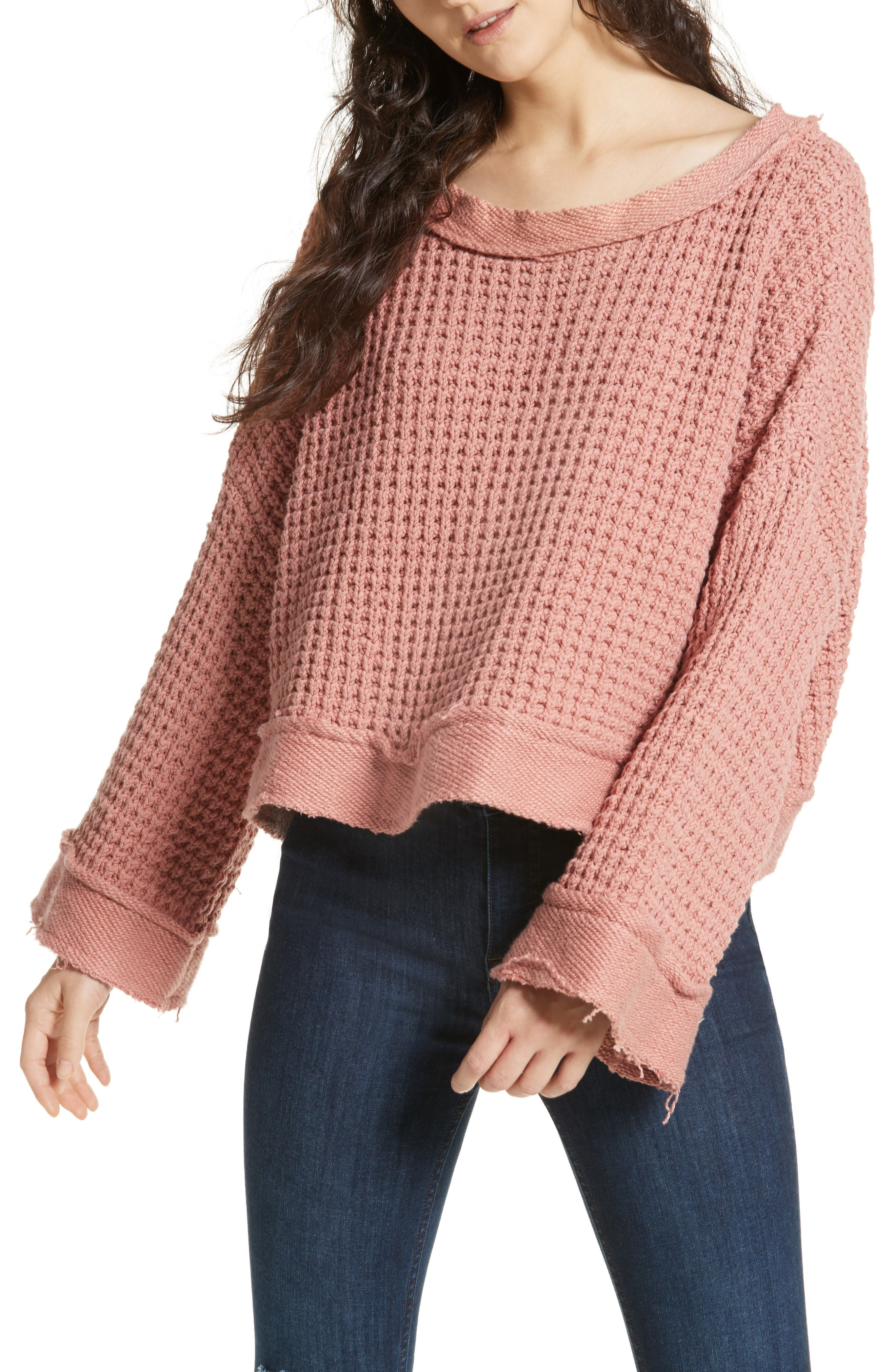 Maybe Baby Bell Sleeve Sweater,                             Main thumbnail 1, color,                             663