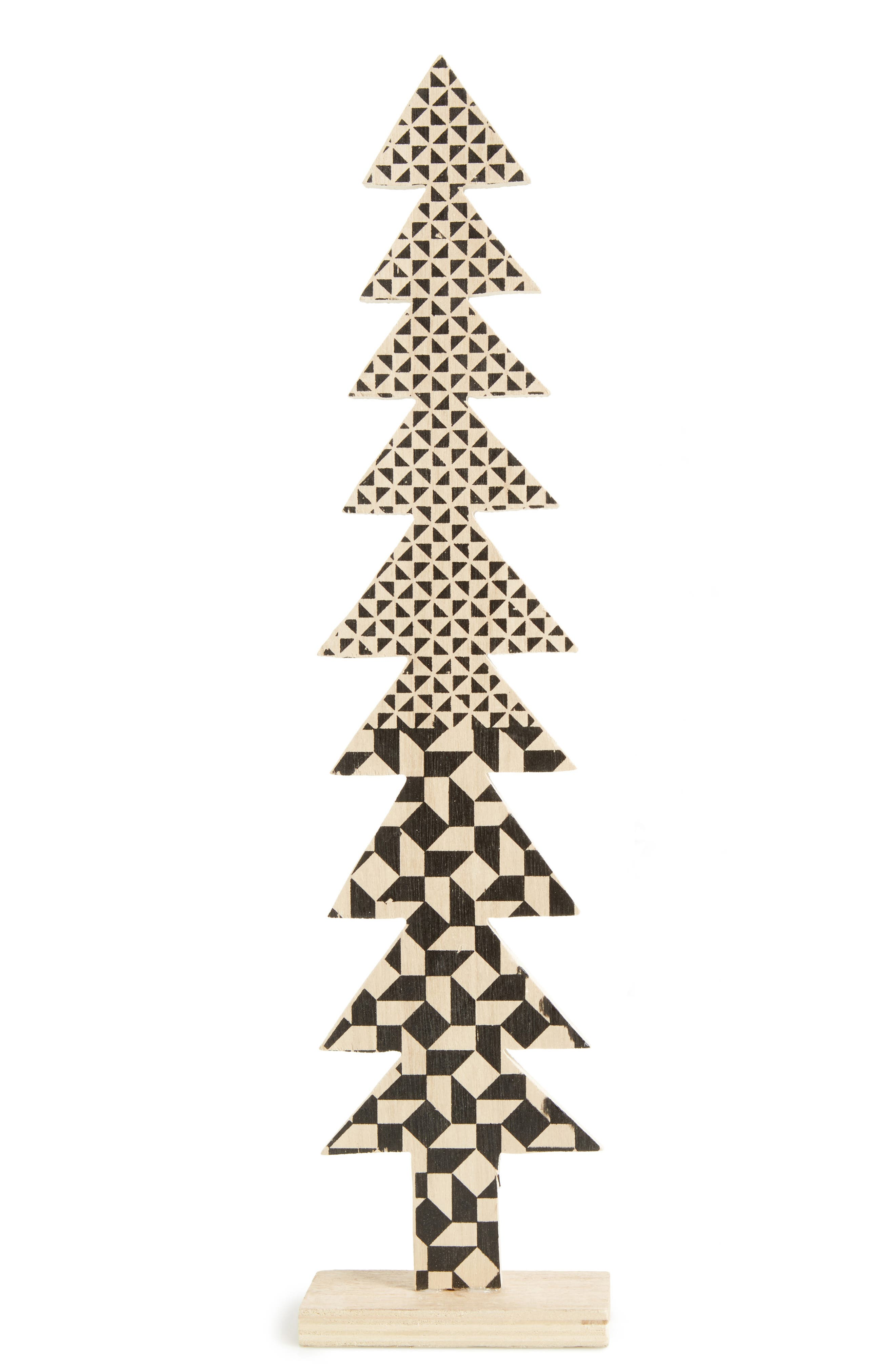Wooden Christmas Tree Decoration,                             Alternate thumbnail 2, color,