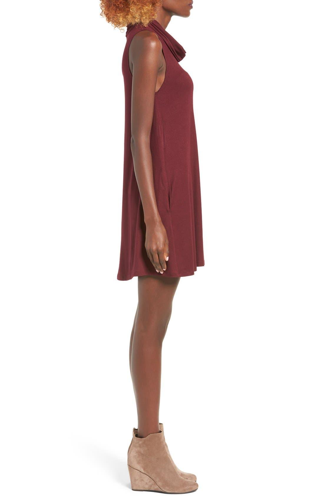 Cowl Neck Shift Dress,                             Alternate thumbnail 66, color,