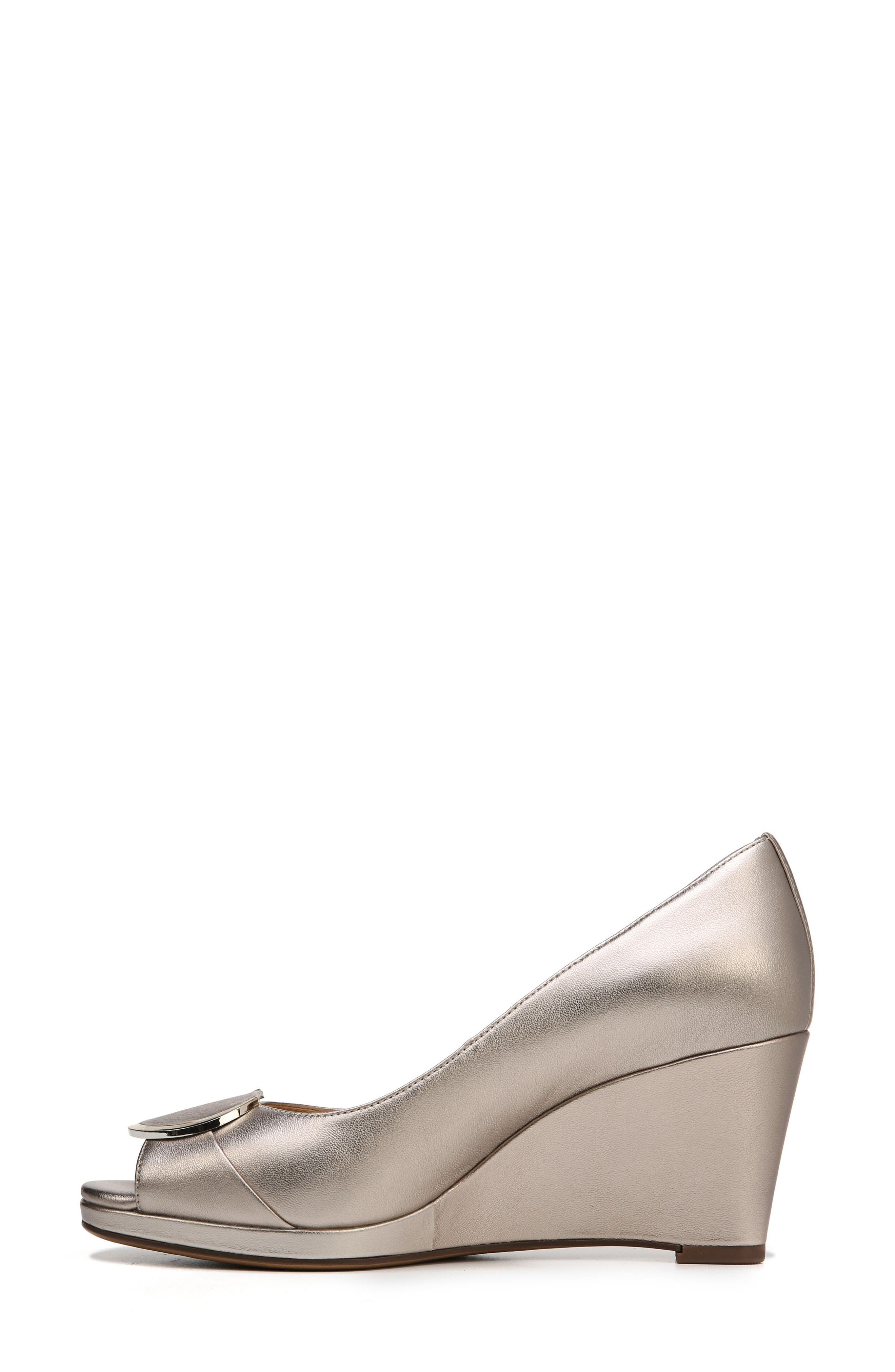 Ollie Peep Toe Wedge,                             Alternate thumbnail 9, color,